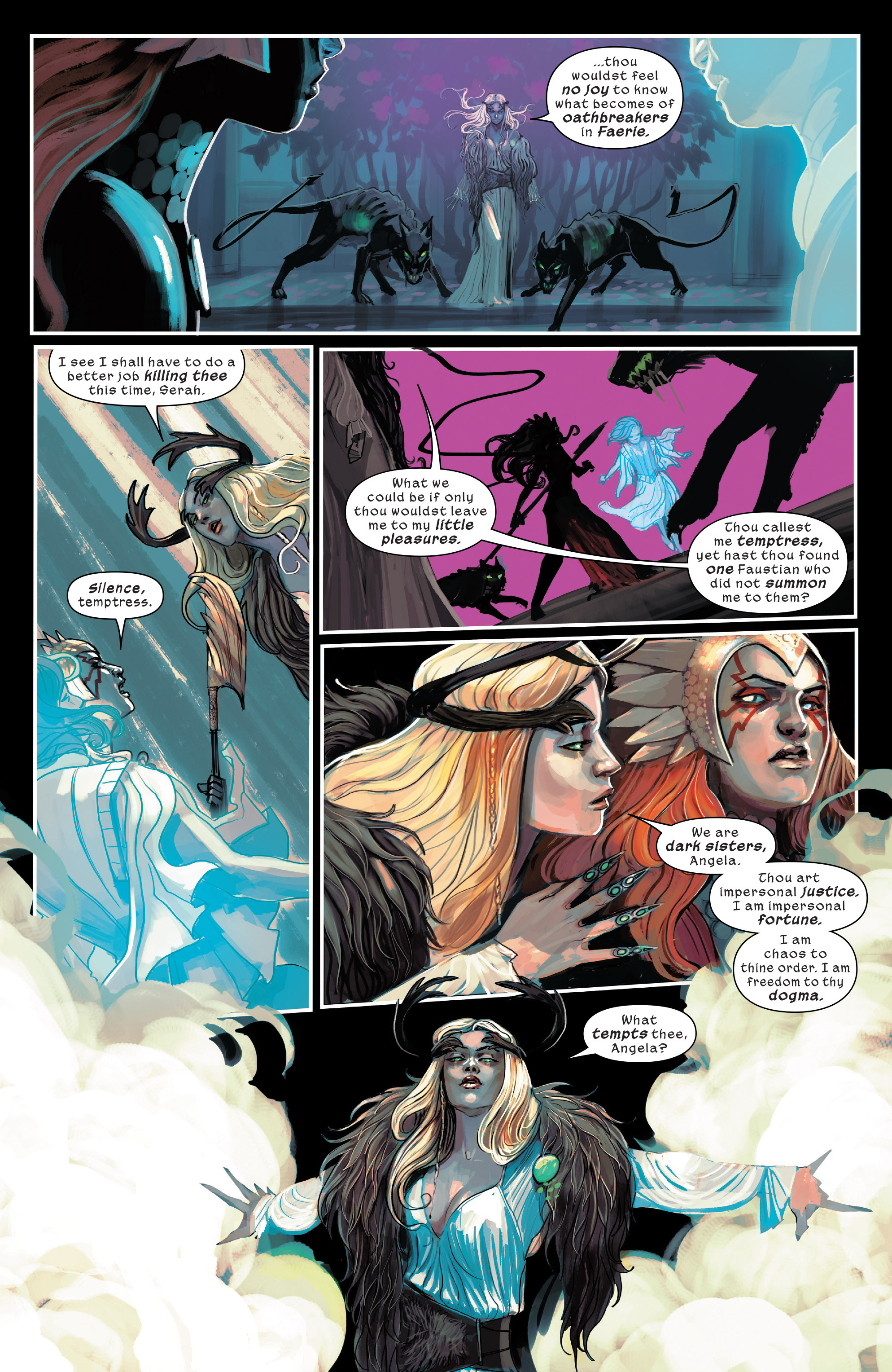 Read online 1602 Witch Hunter Angela comic -  Issue #4 - 5
