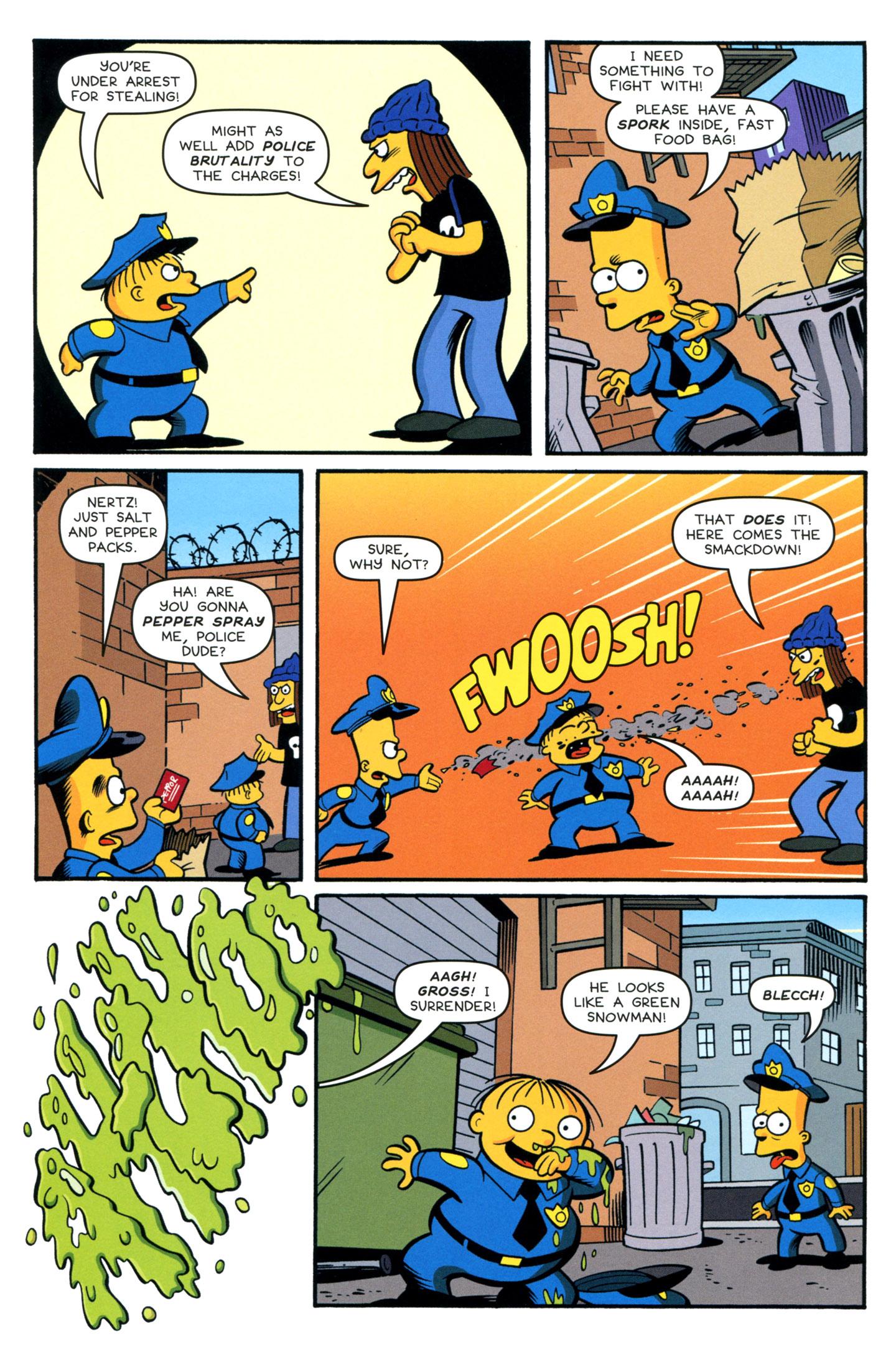 Read online Simpsons Comics Presents Bart Simpson comic -  Issue #77 - 6