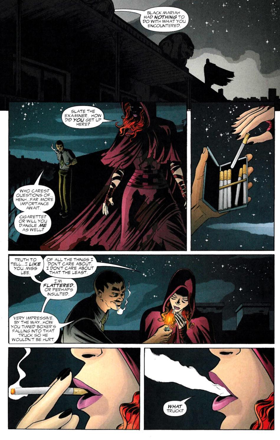 Read online Fallen Angel (2003) comic -  Issue #4 - 7