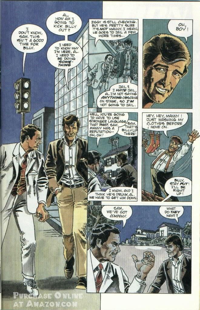 Read online Quantum Leap comic -  Issue #10 - 8