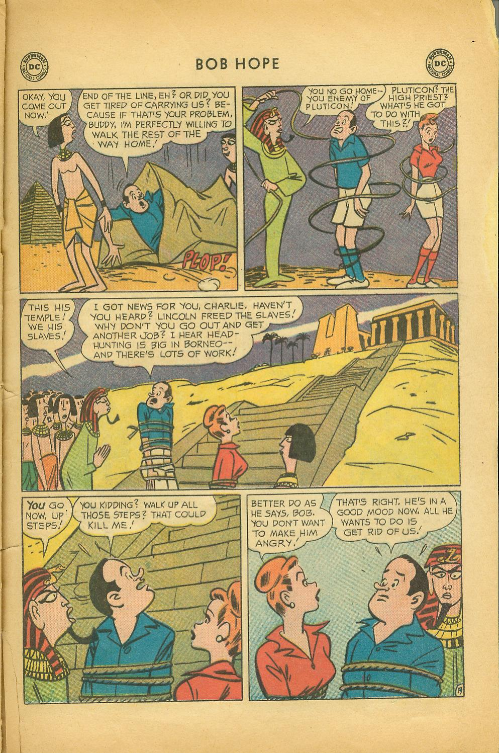 The Adventures of Bob Hope issue 64 - Page 25
