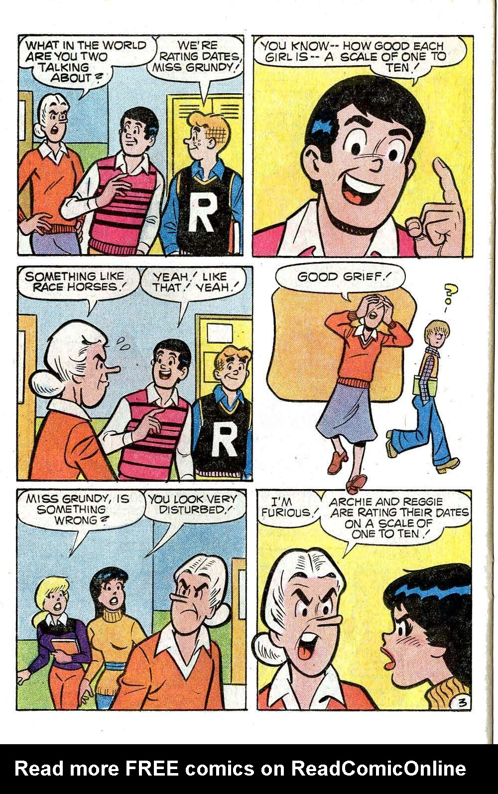 Read online Archie (1960) comic -  Issue #272 - 22