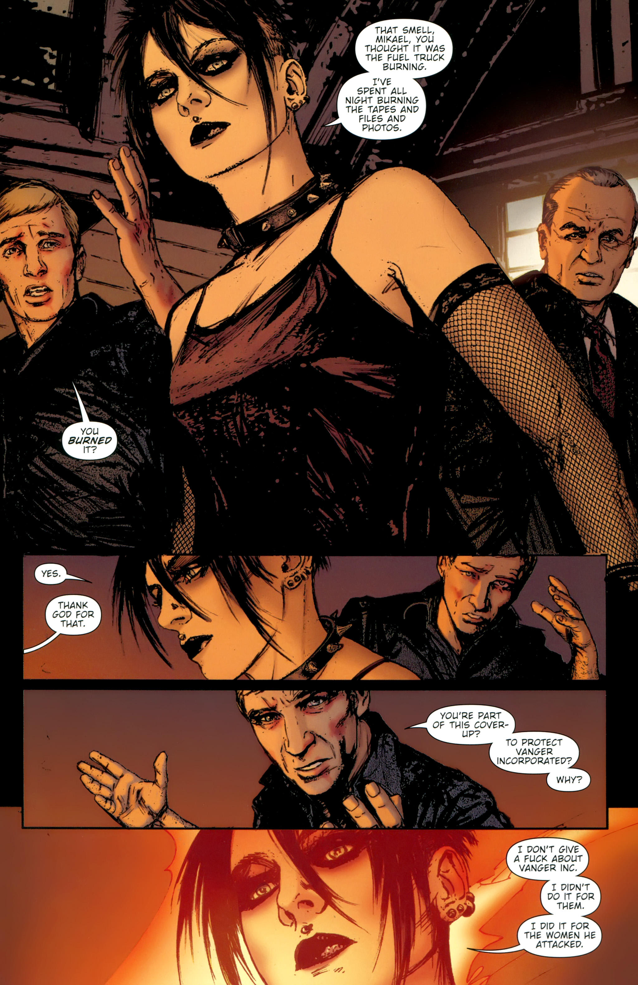 Read online The Girl With the Dragon Tattoo comic -  Issue # TPB 2 - 115