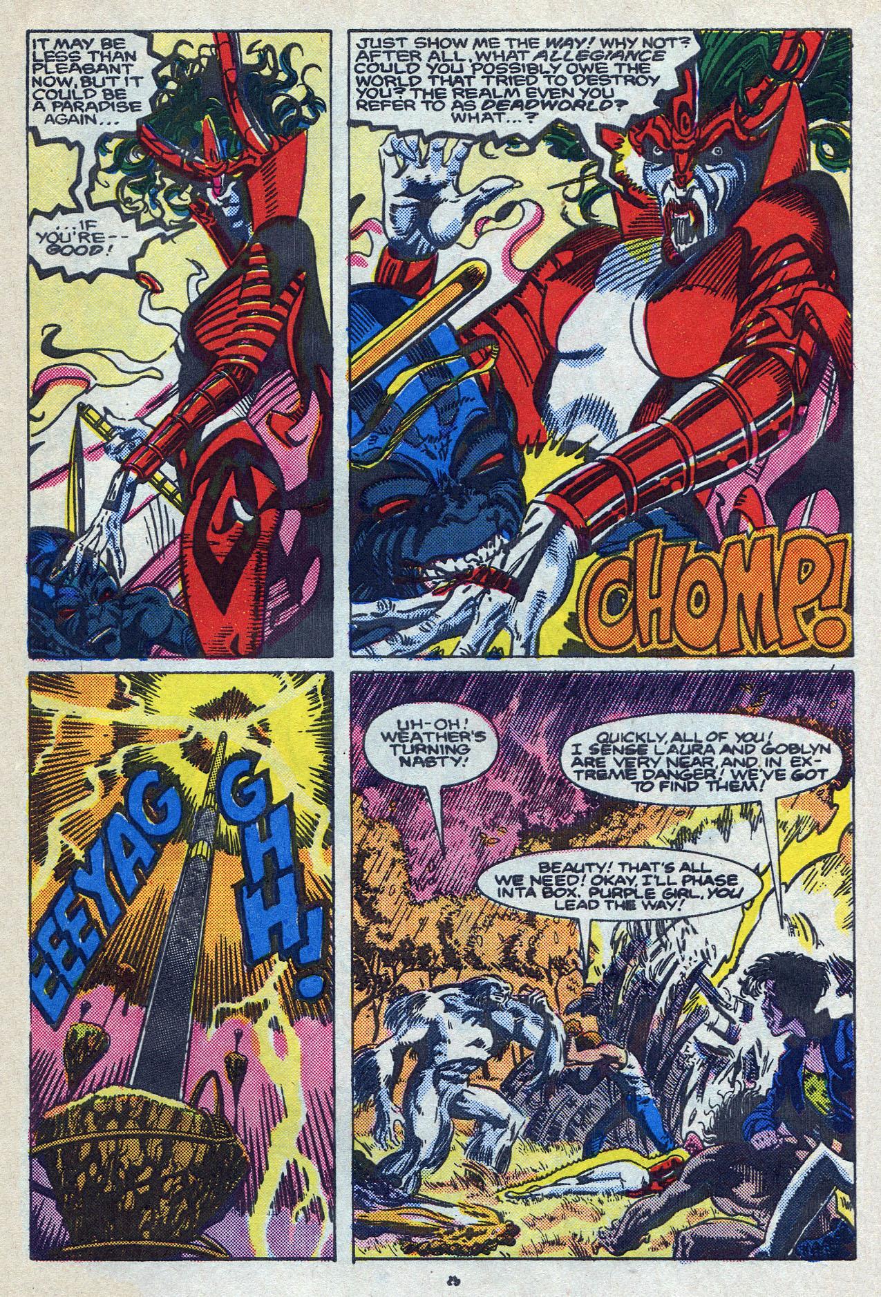 Read online Alpha Flight (1983) comic -  Issue #58 - 31