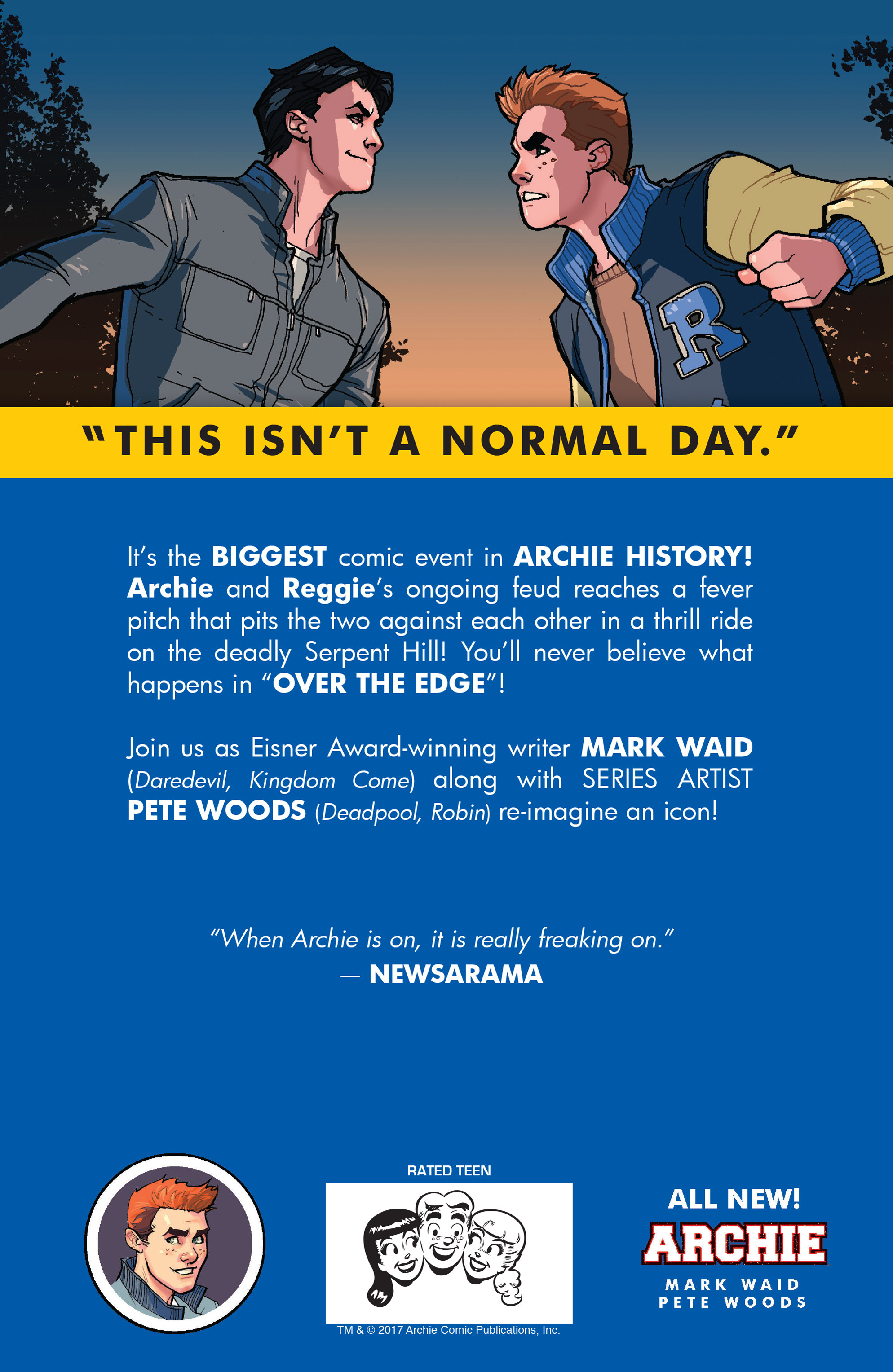 Read online Archie (2015) comic -  Issue #20 - 30