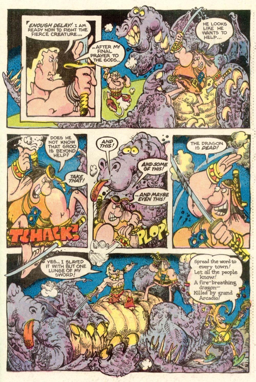 Read online Sergio Aragonés Groo the Wanderer comic -  Issue #10 - 15