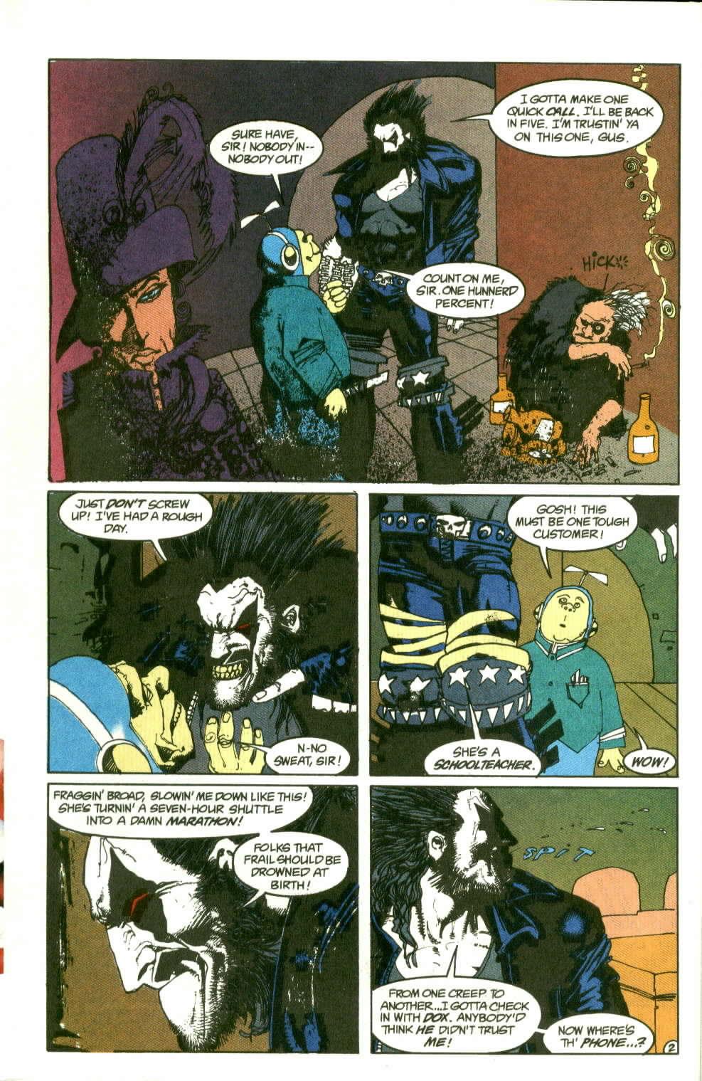 Read online Lobo (1990) comic -  Issue #2 - 3