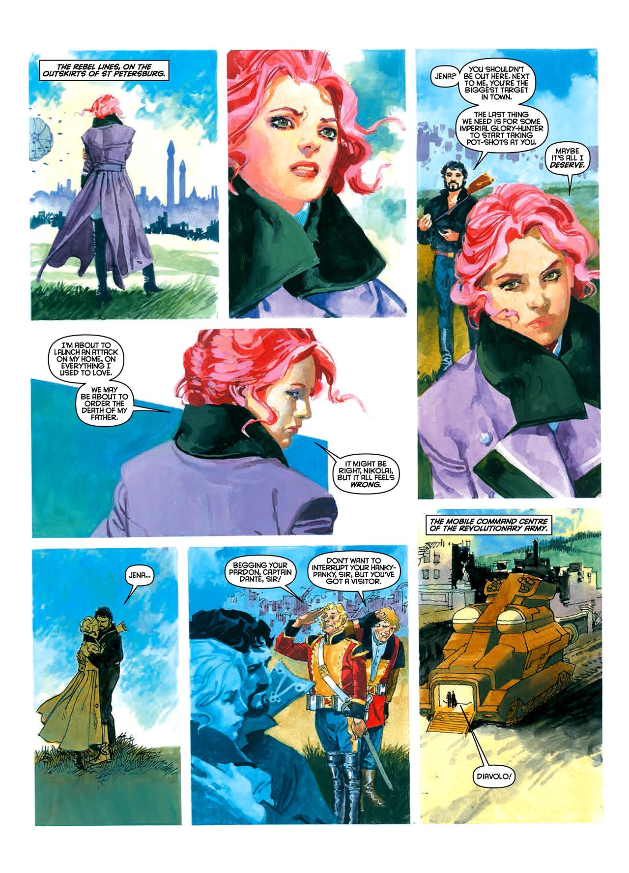 Read online Nikolai Dante comic -  Issue # TPB 10 - 39