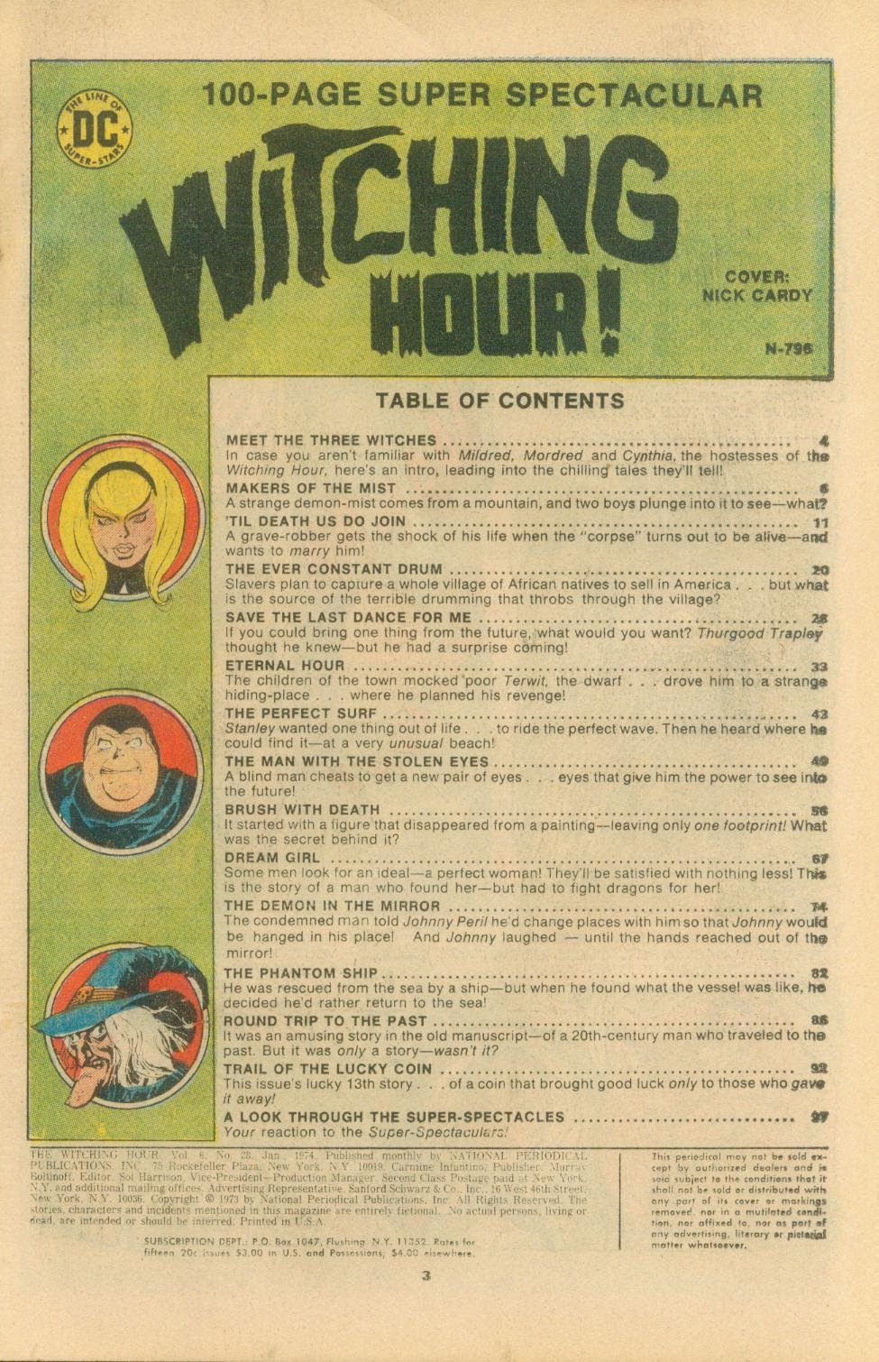 The Witching Hour (1969) issue 38 - Page 4