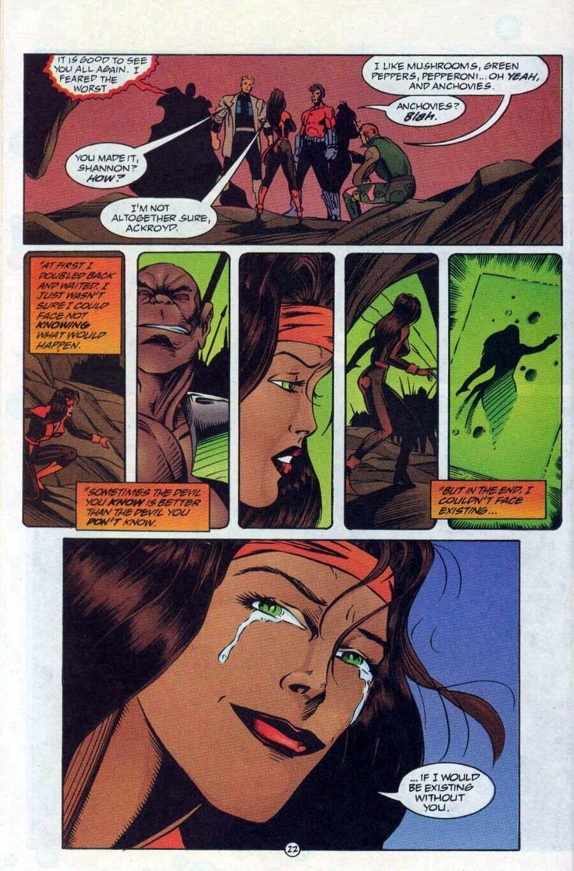 Read online Ex-Mutants comic -  Issue #17 - 23