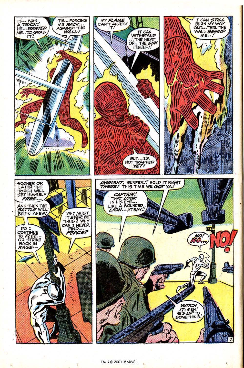 Read online Silver Surfer (1968) comic -  Issue #15 - 24