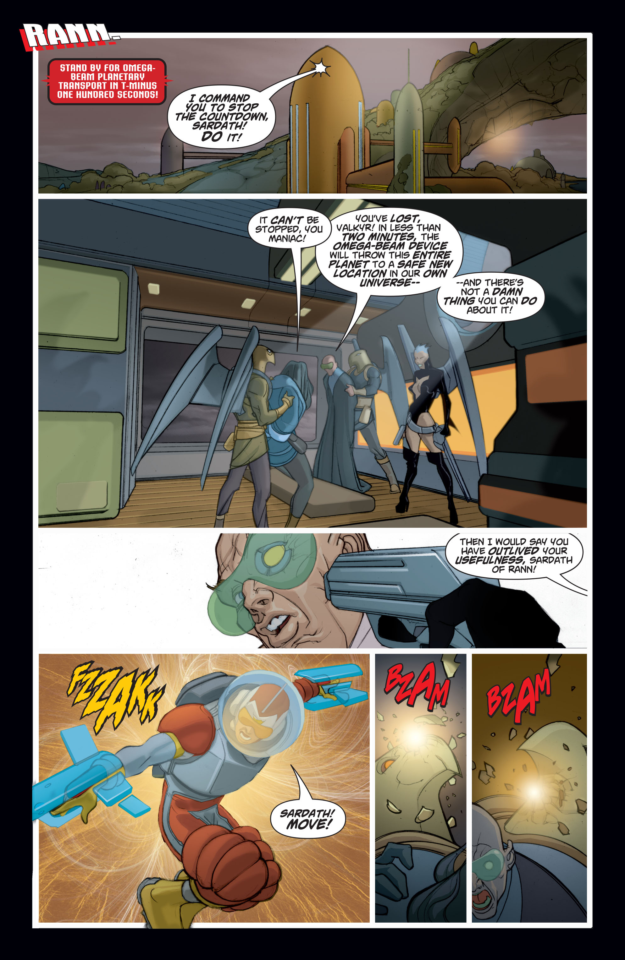 Read online Adam Strange (2004) comic -  Issue #8 - 10