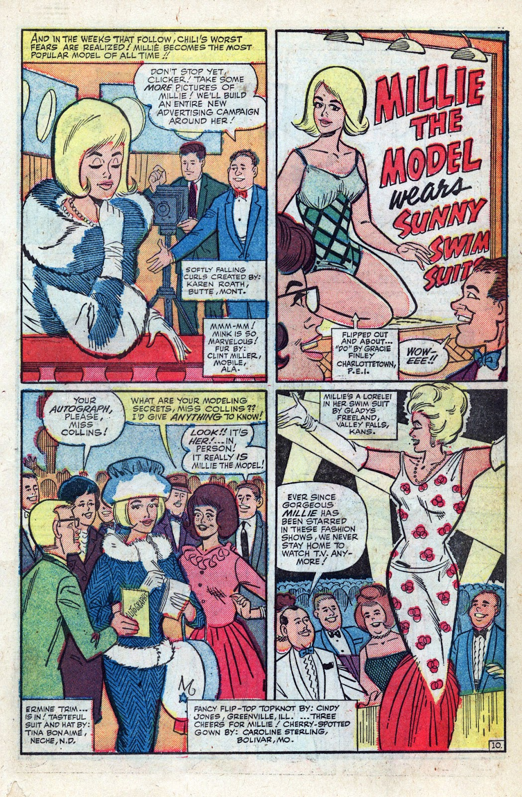 Read online Millie the Model comic -  Issue # Annual 3 - 33