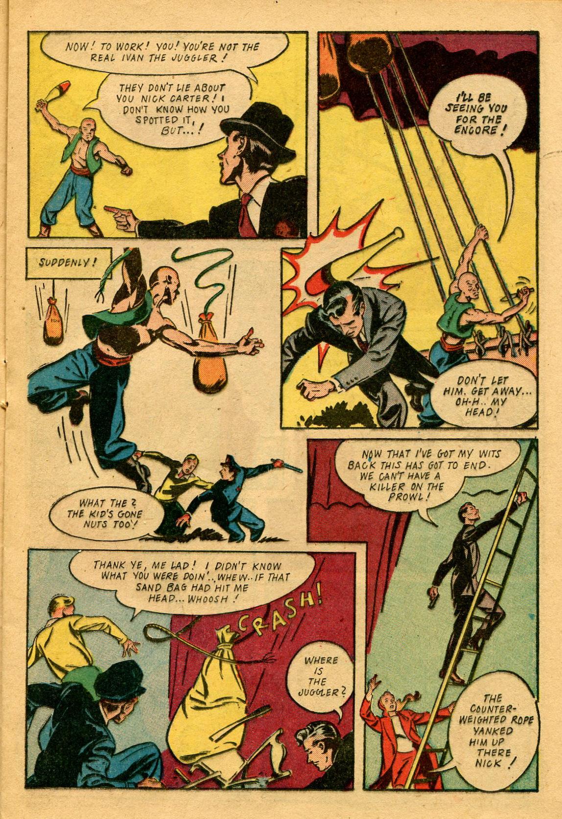 Read online Shadow Comics comic -  Issue #53 - 22