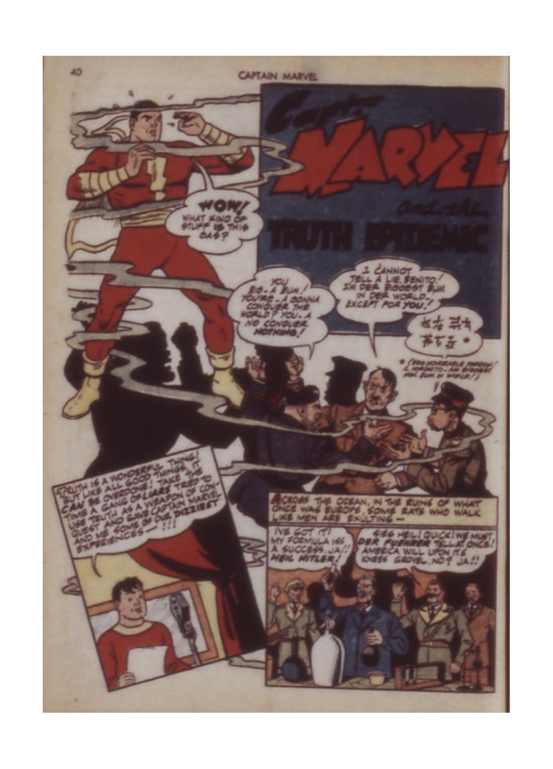 Captain Marvel Adventures issue 12 - Page 40