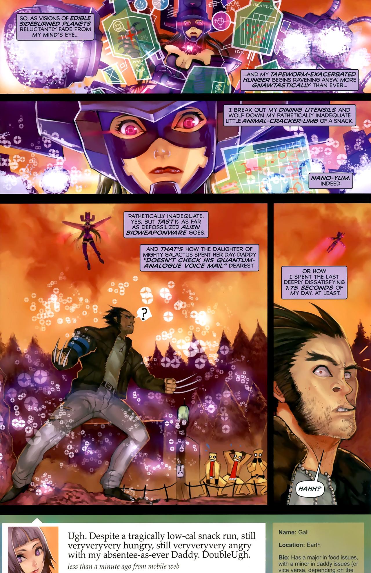 Read online Galacta: Daughter of Galactus comic -  Issue # Full - 17