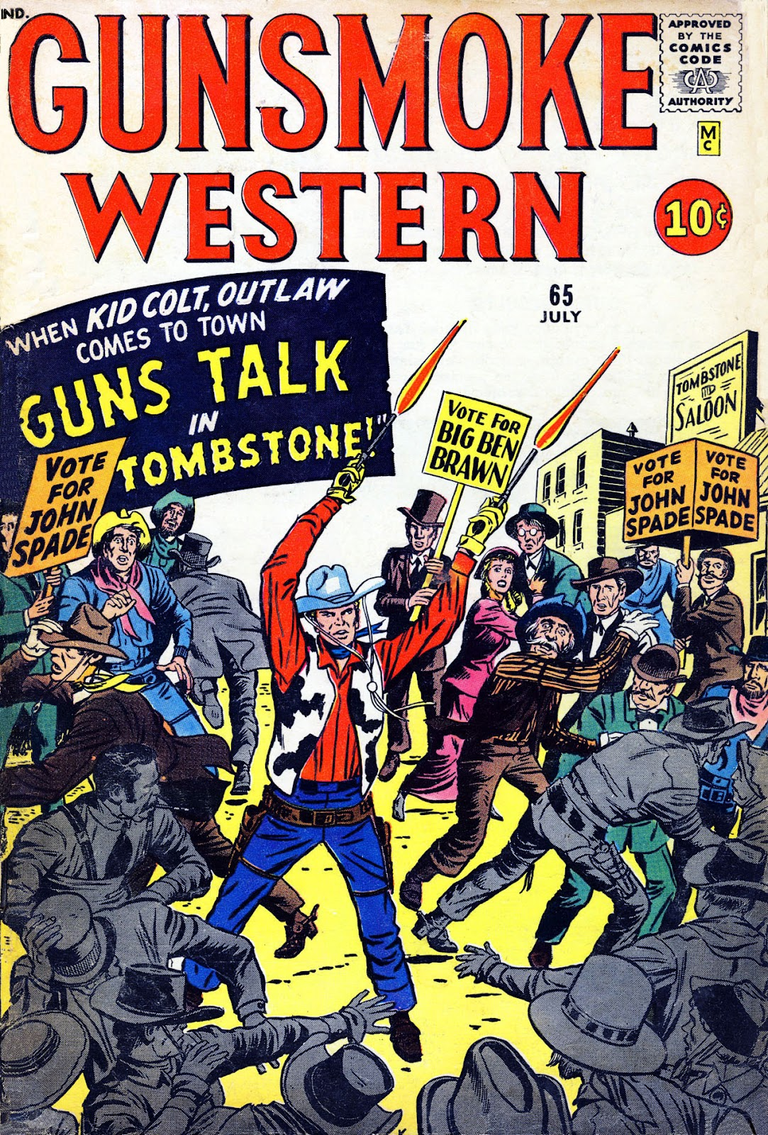 Gunsmoke Western issue 65 - Page 1