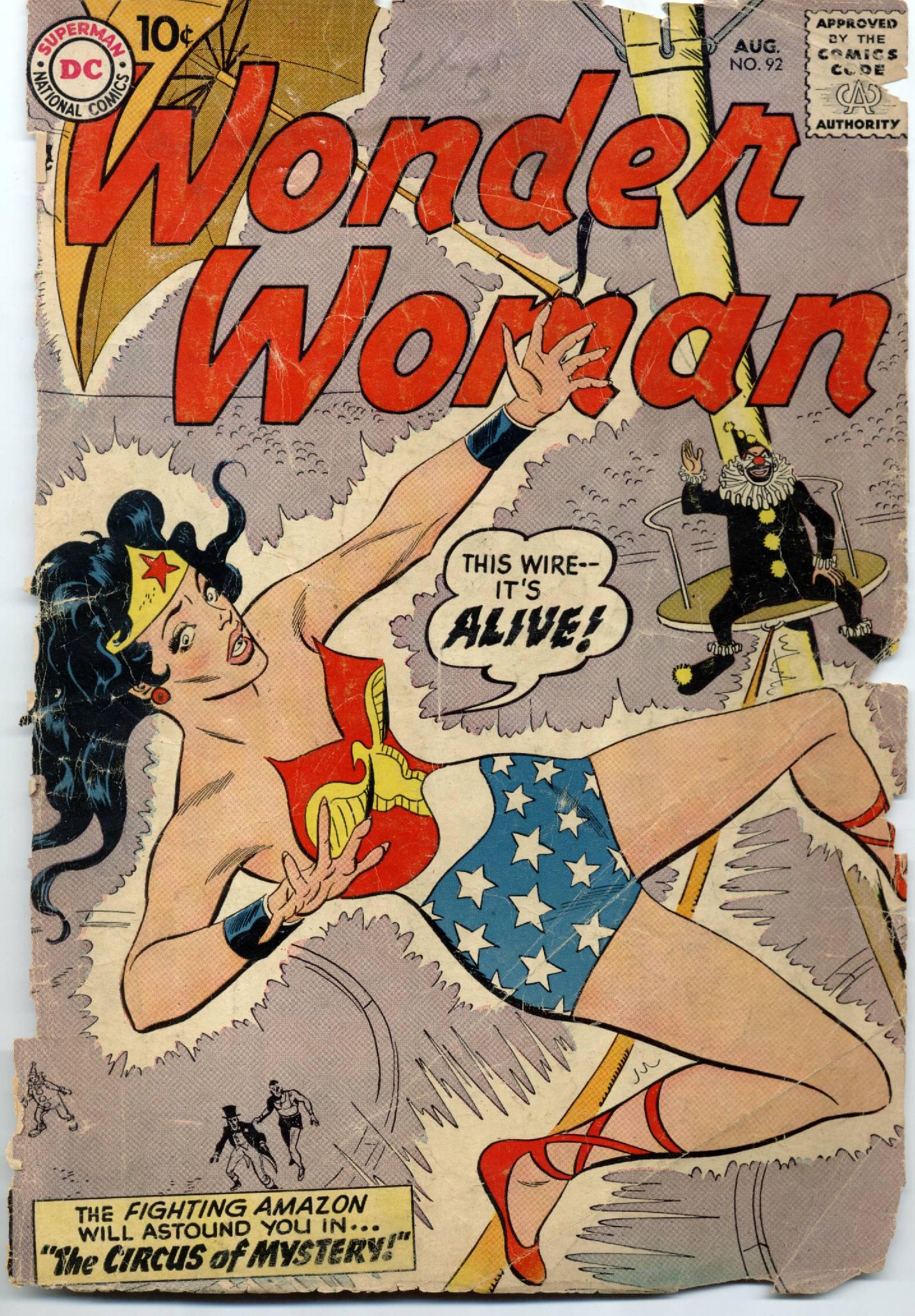 Read online Wonder Woman (1942) comic -  Issue #92 - 1