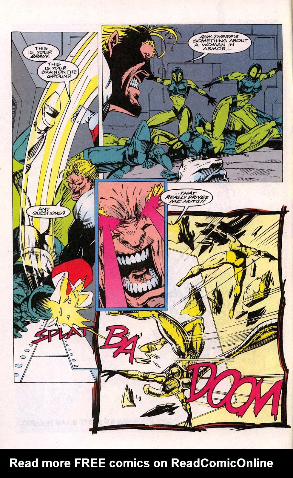 Avengers Unplugged issue 1 - Page 6