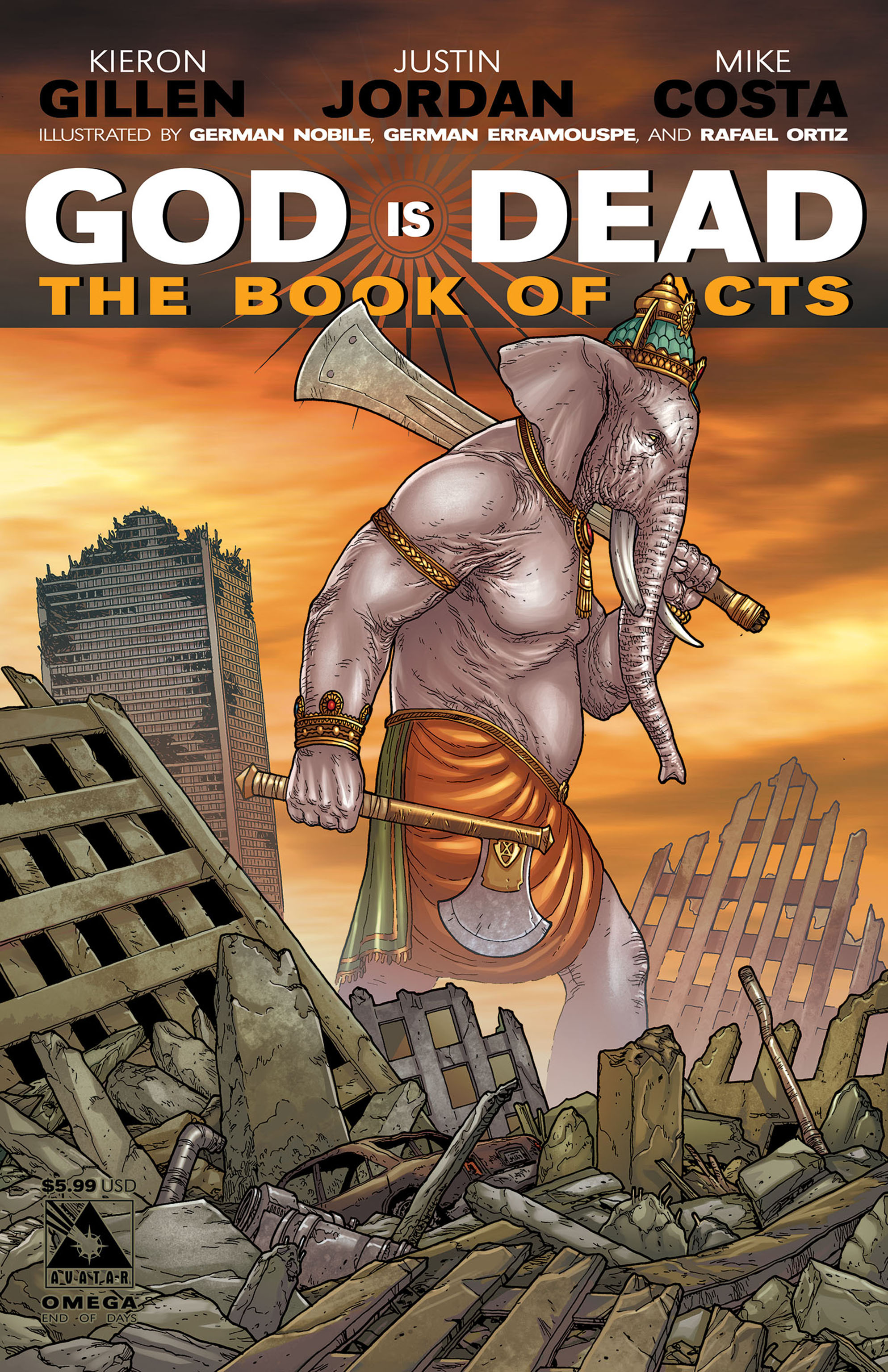 Read online God is Dead: Book of Acts comic -  Issue # Omega - 3