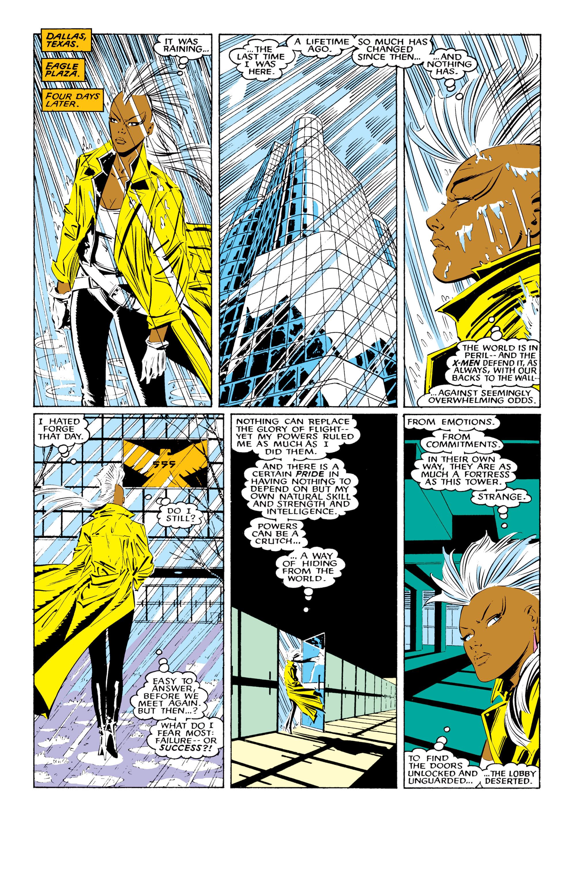 Read online Uncanny X-Men (1963) comic -  Issue #220 - 8