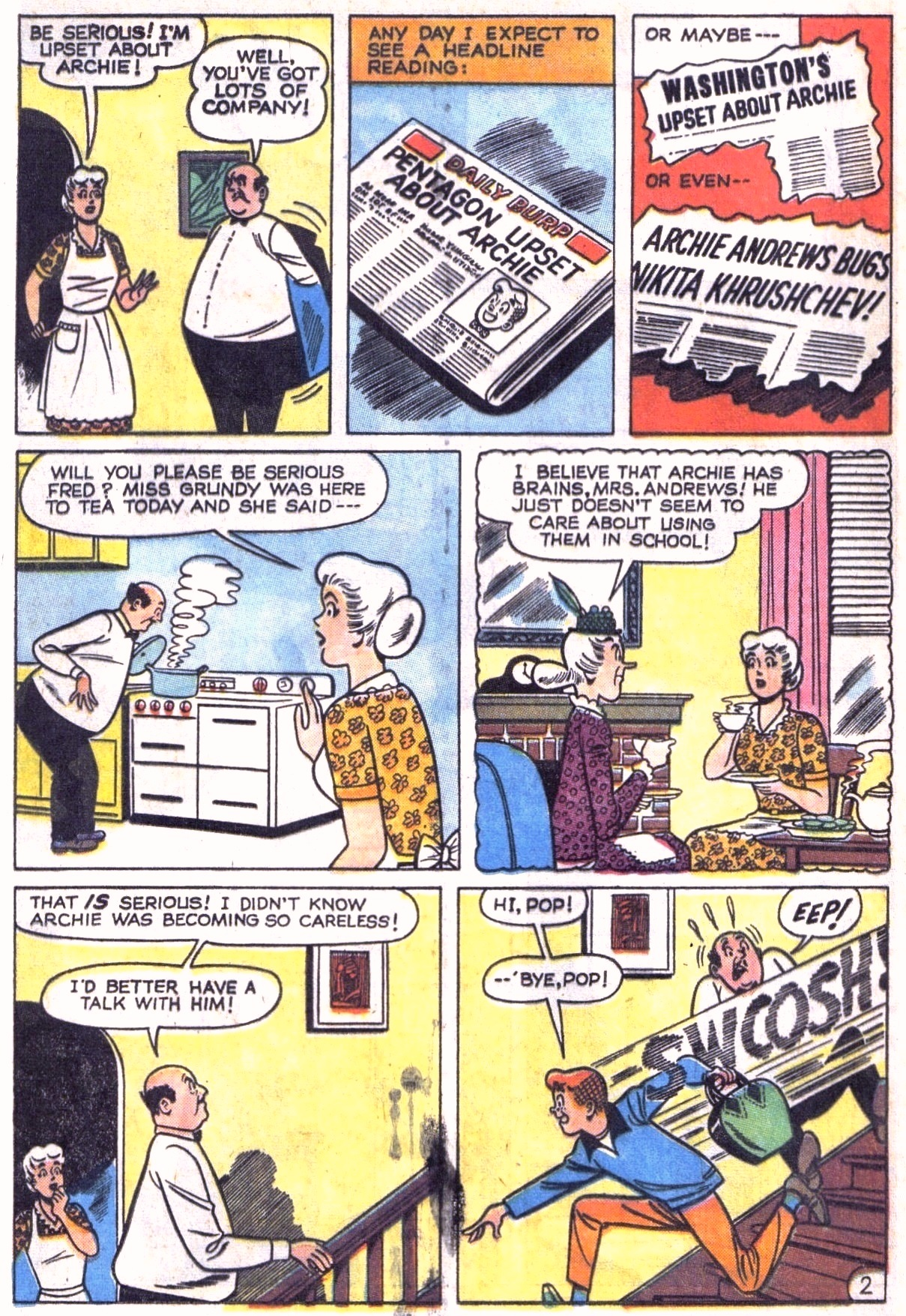 Read online Archie (1960) comic -  Issue #151 - 4