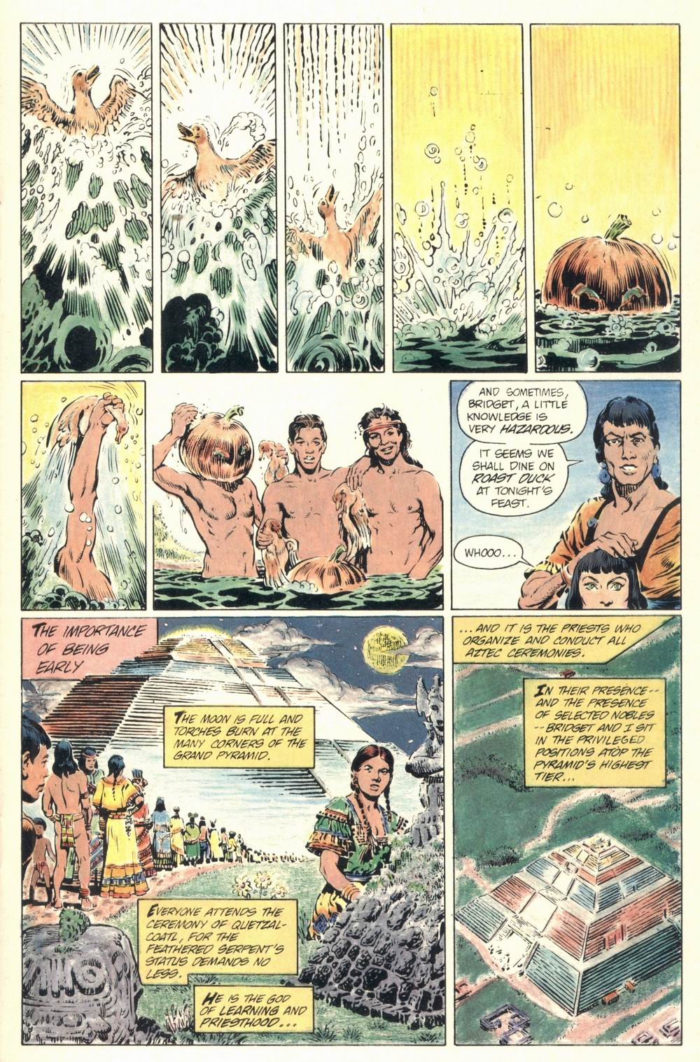 Read online Aztec Ace comic -  Issue #1 - 19