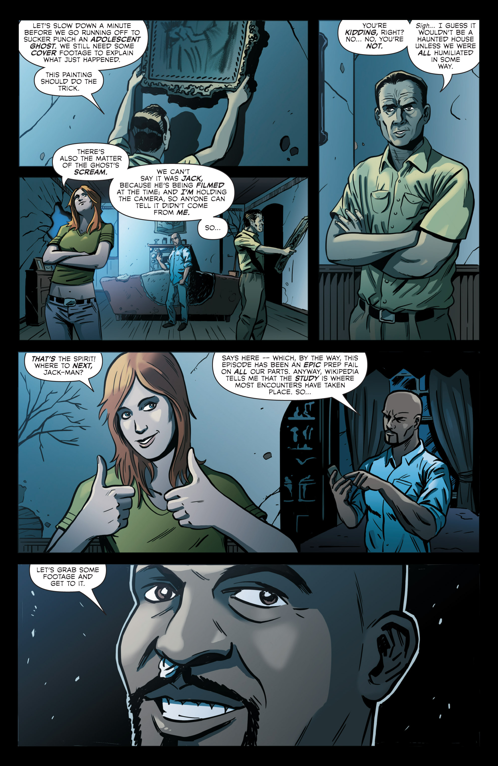 Read online Hoax Hunters (2012) comic -  Issue # TPB 2 - 93