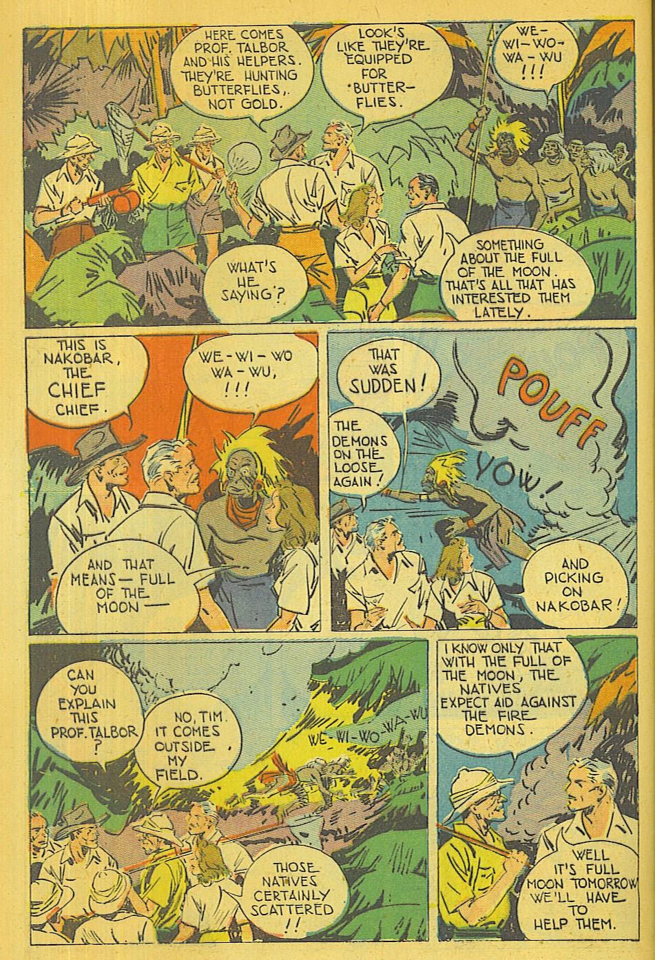 Read online Super-Magician Comics comic -  Issue #39 - 5