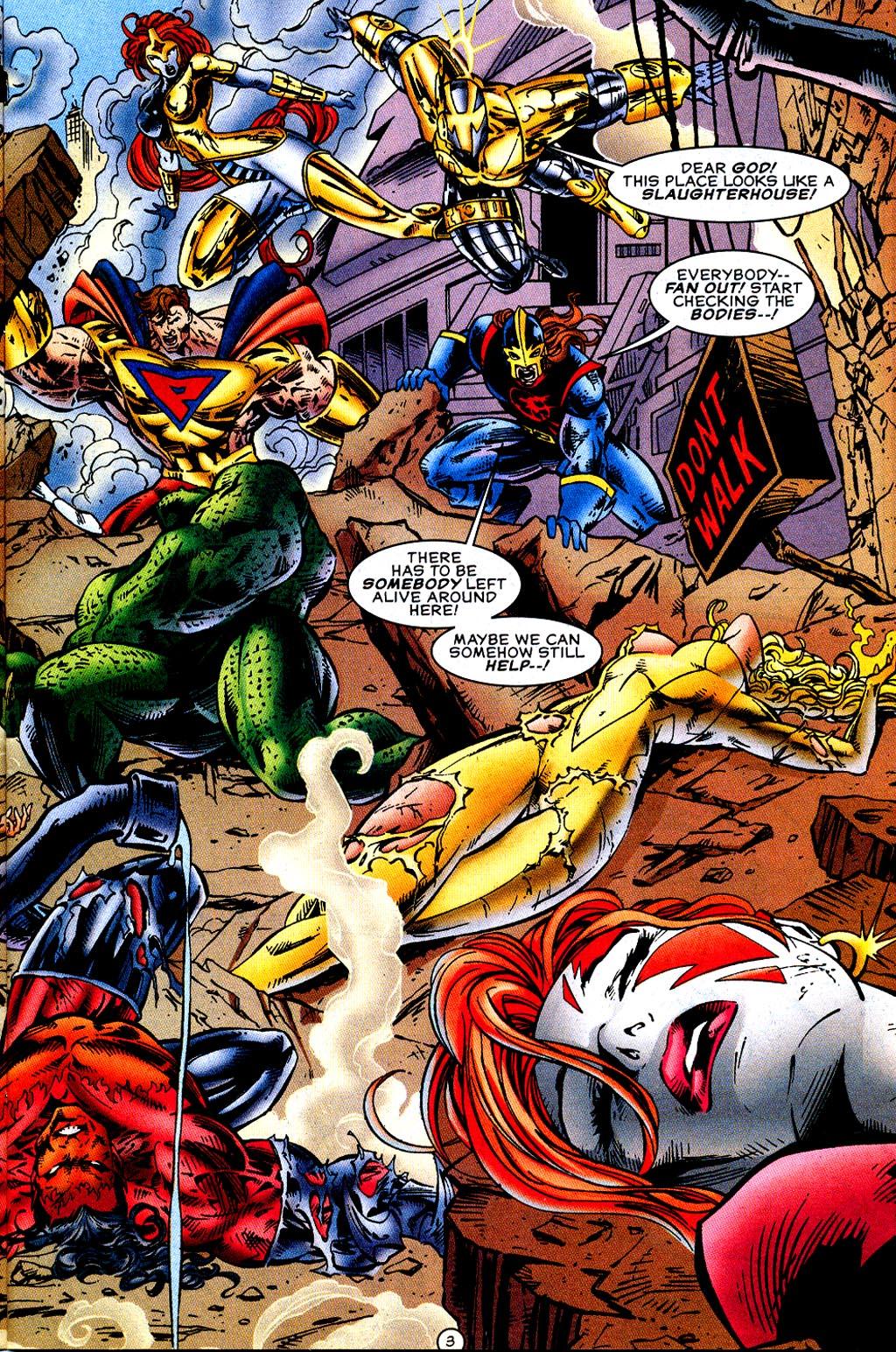Read online UltraForce (1995) comic -  Issue #12 - 5