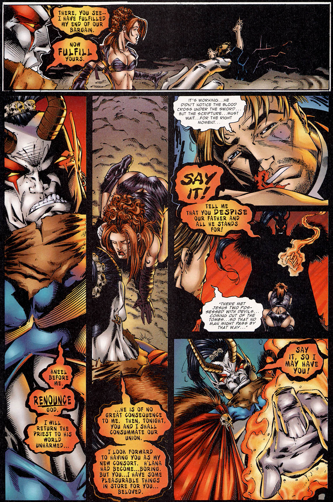 Read online Avengelyne (1995) comic -  Issue #3 - 19