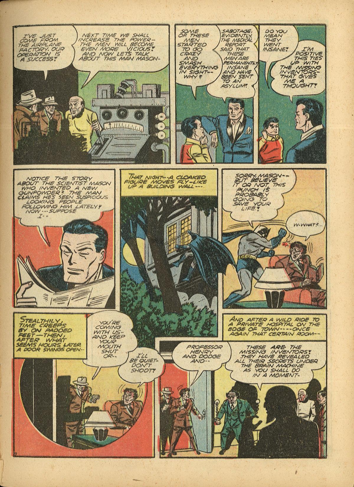 Read online Detective Comics (1937) comic -  Issue #55 - 9