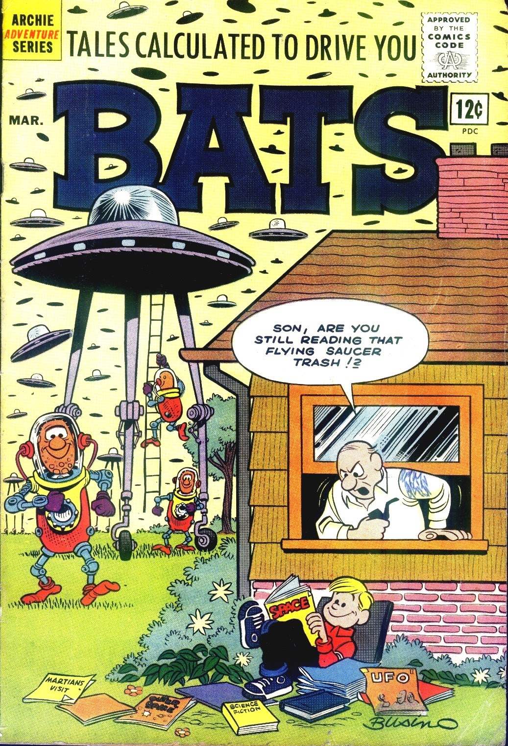 Read online Tales Calculated to Drive You Bats comic -  Issue #3 - 1