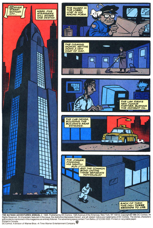 comic the batman adventures issue 2. Black Bedroom Furniture Sets. Home Design Ideas