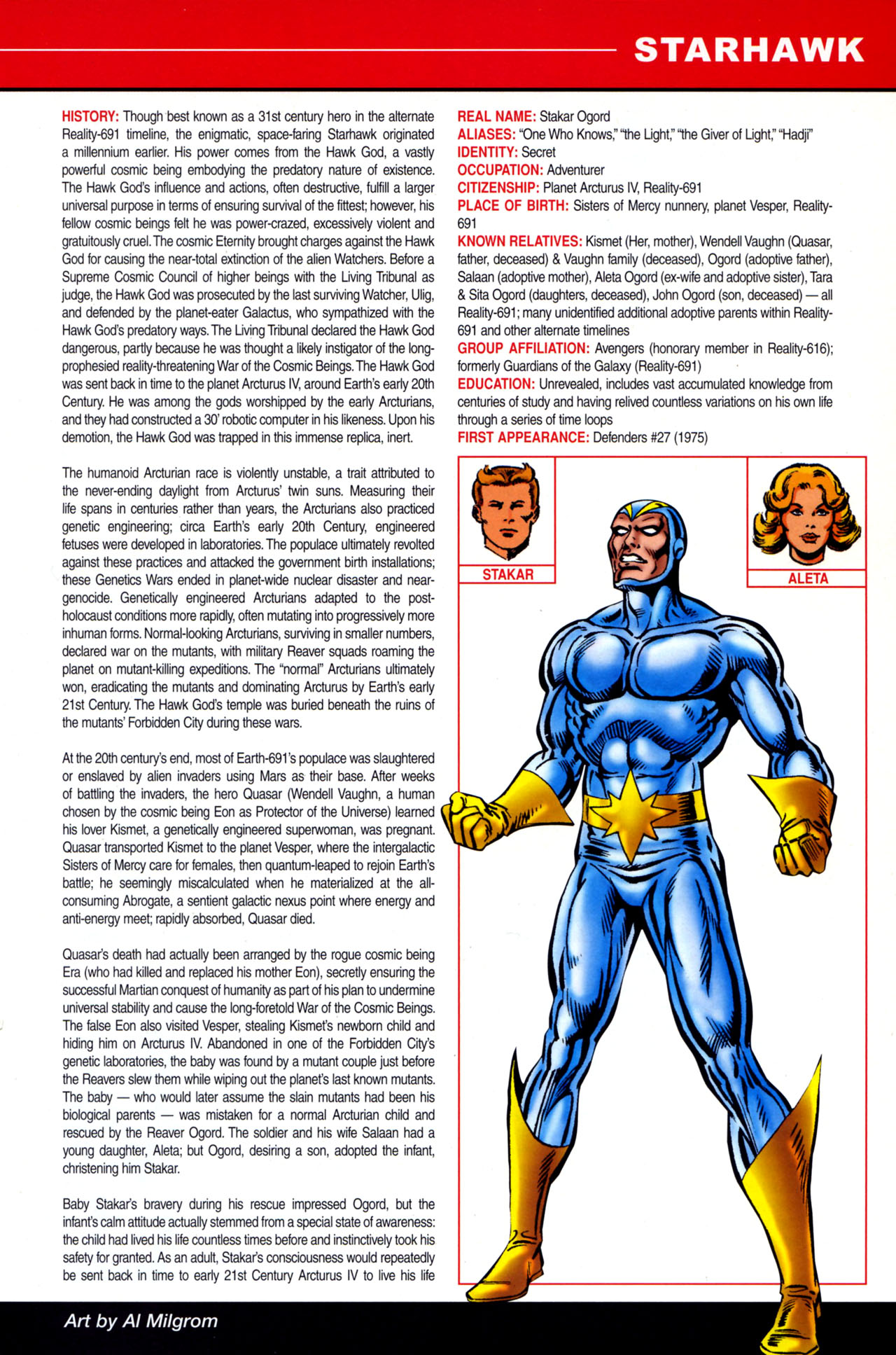 Read online All-New Official Handbook of the Marvel Universe A to Z: Update comic -  Issue #4 - 47