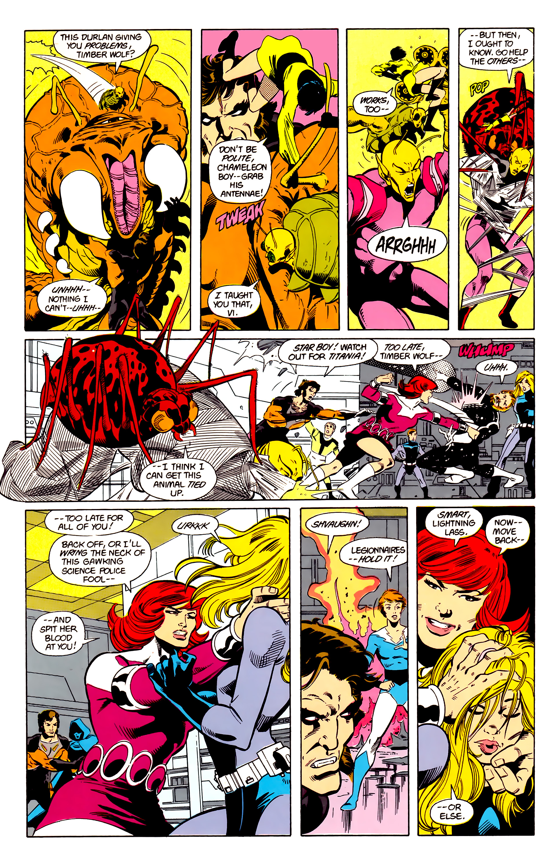 Legion of Super-Heroes (1984) 21 Page 7