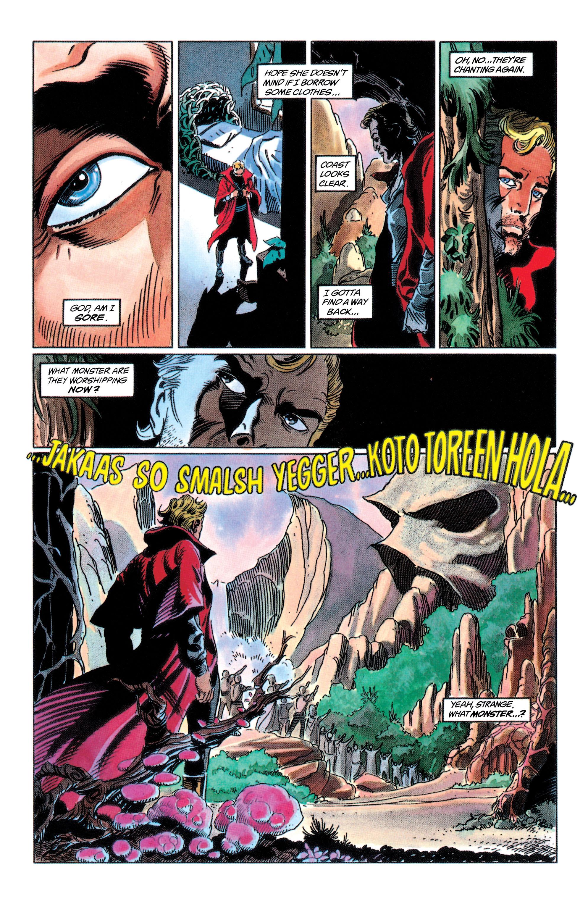 Read online Adam Strange (1990) comic -  Issue #2 - 42