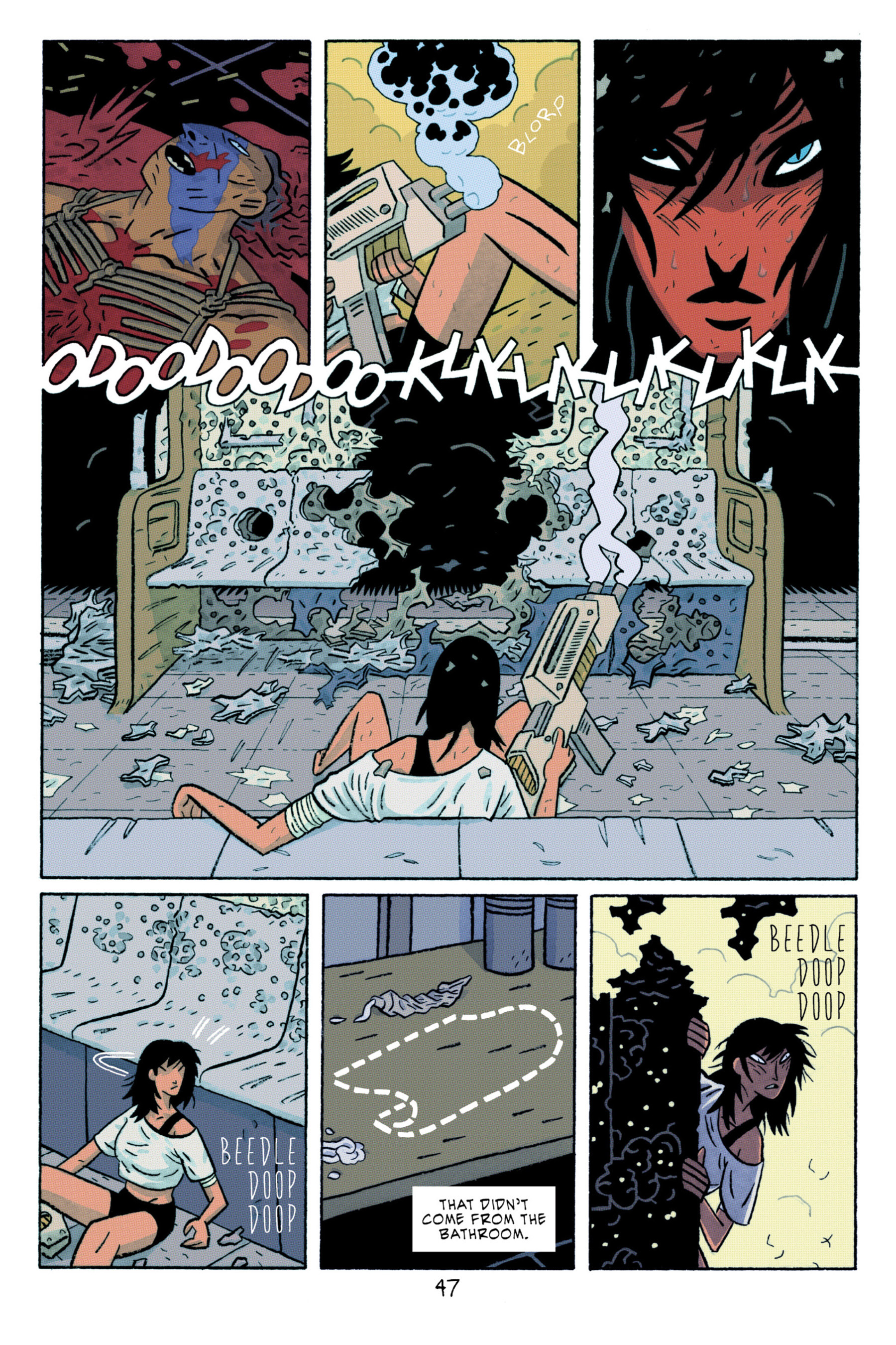 Read online ApocalyptiGirl: An Aria for the End Times comic -  Issue #ApocalyptiGirl: An Aria for the End Times Full - 55