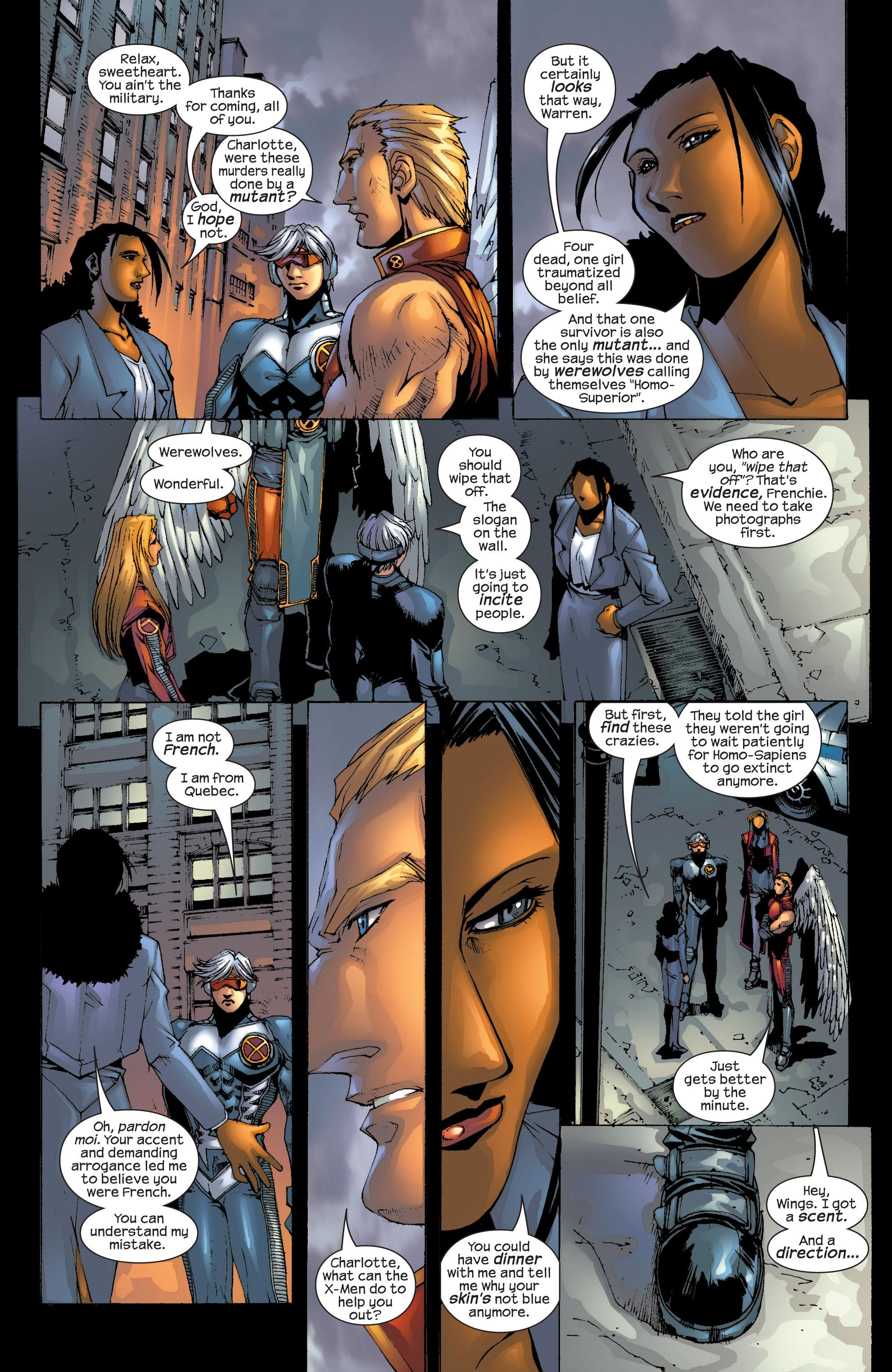 Read online Uncanny X-Men (1963) comic -  Issue #417 - 19