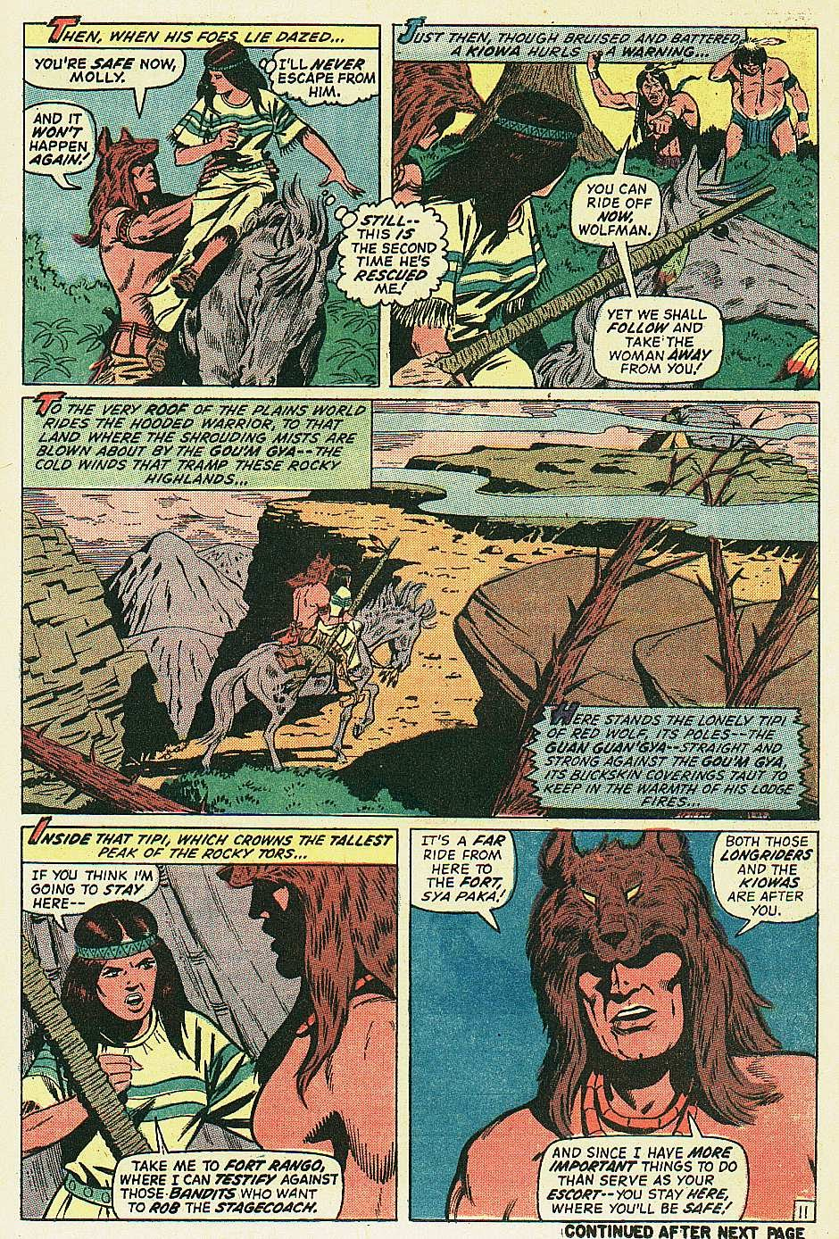 Red Wolf (1972) issue 2 - Page 12