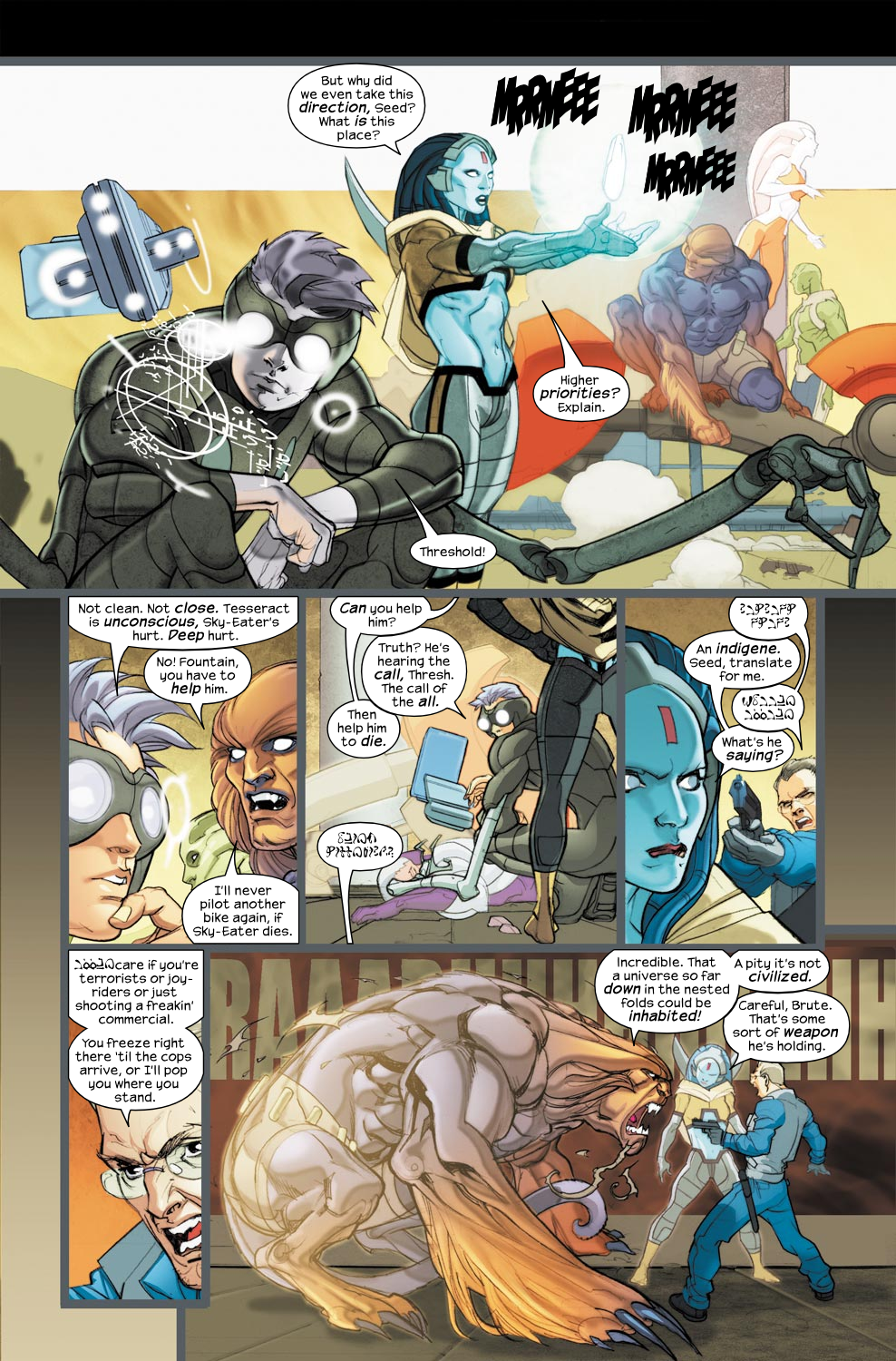 Read online Ultimate Fantastic Four (2004) comic -  Issue #33 - 5