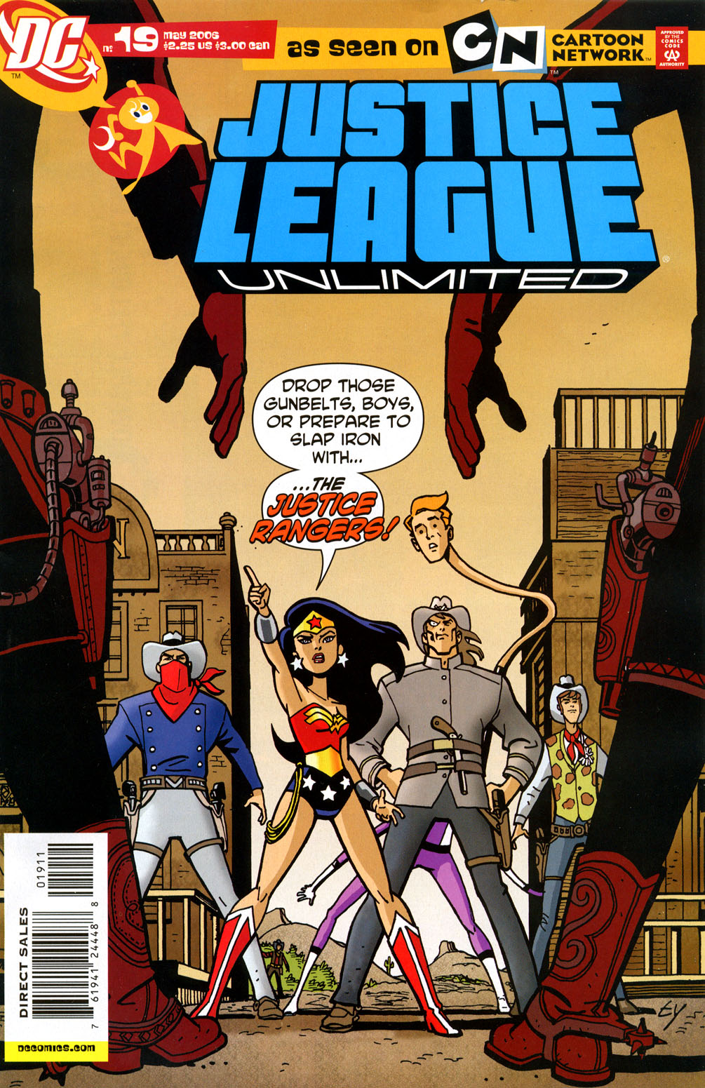 Justice League Unlimited 19 Page 1