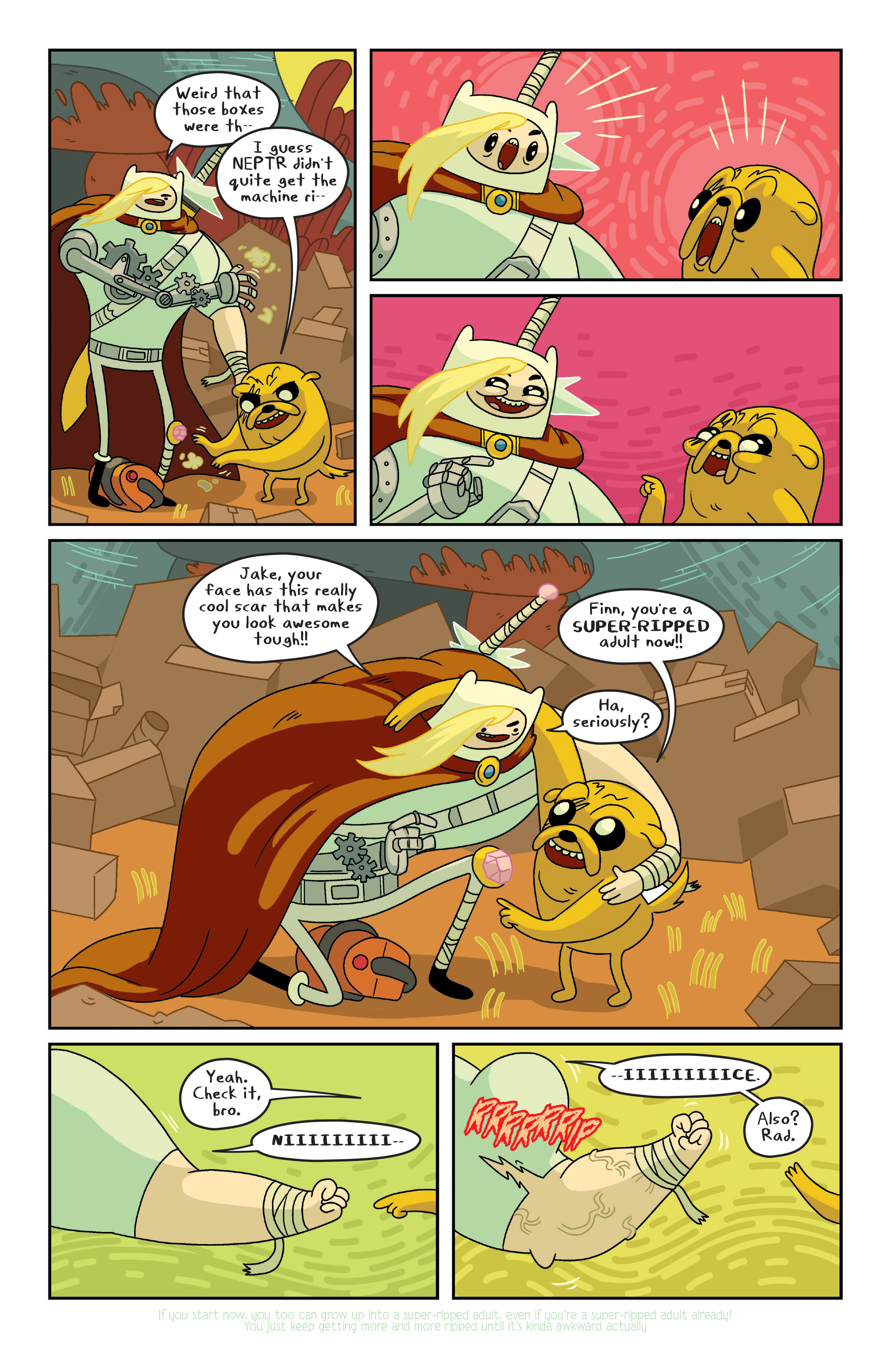 Read online Adventure Time comic -  Issue #7 - 13