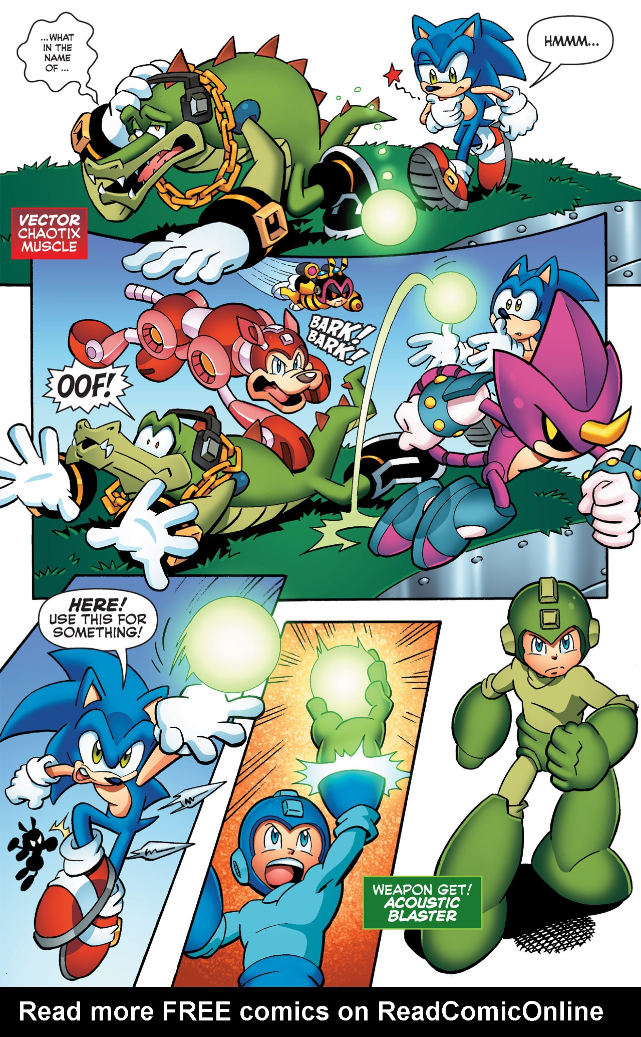 Read online Sonic Mega Man Worlds Collide comic -  Issue # Vol 2 - 45