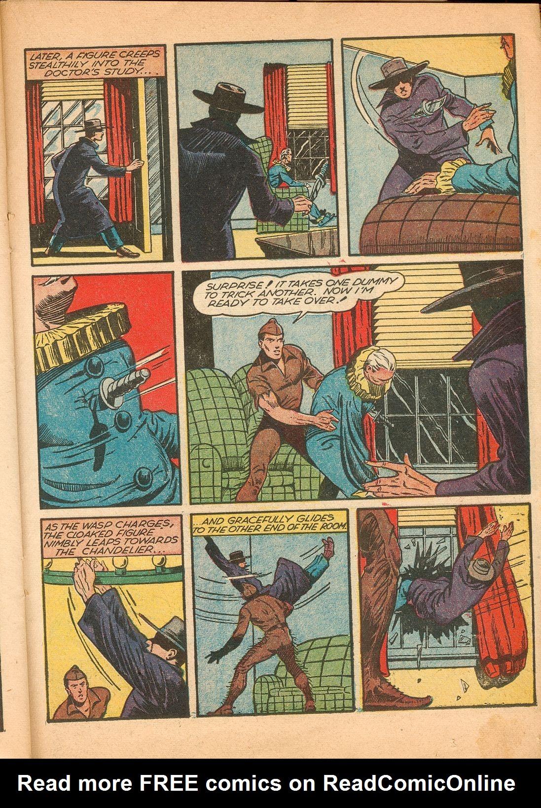 Read online Shadow Comics comic -  Issue #11 - 45