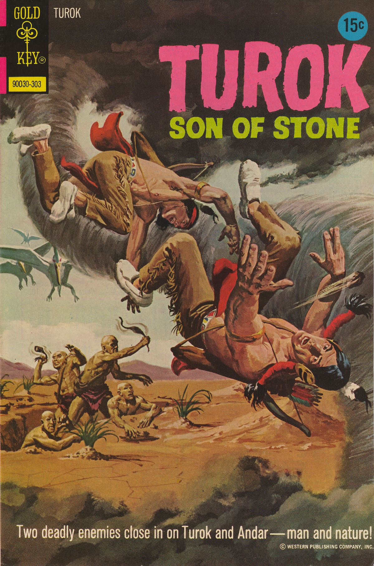 Read online Turok, Son of Stone comic -  Issue #83 - 1