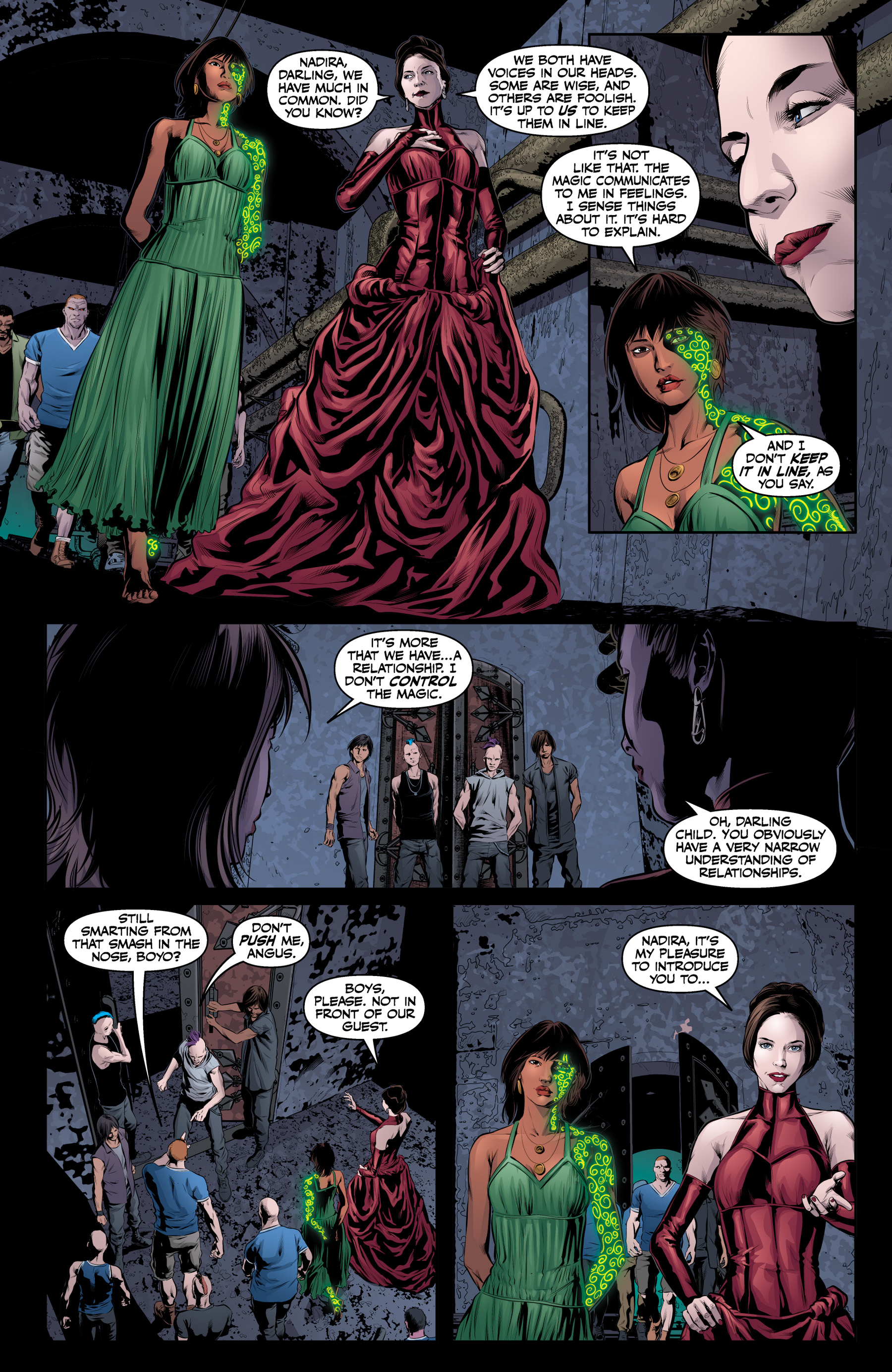 Read online Angel & Faith Season 10 comic -  Issue #20 - 11