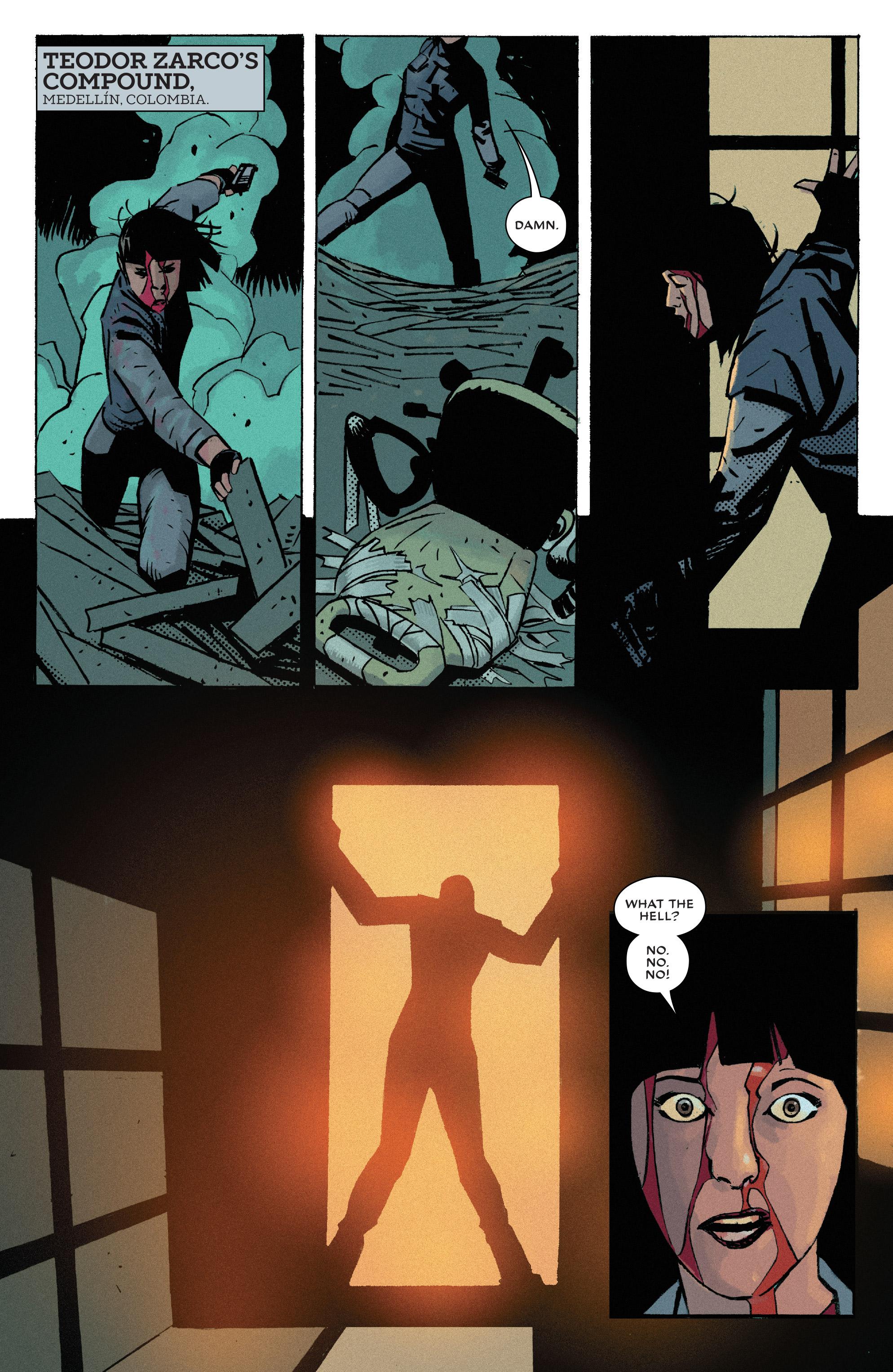 Read online Bullseye comic -  Issue #5 - 2