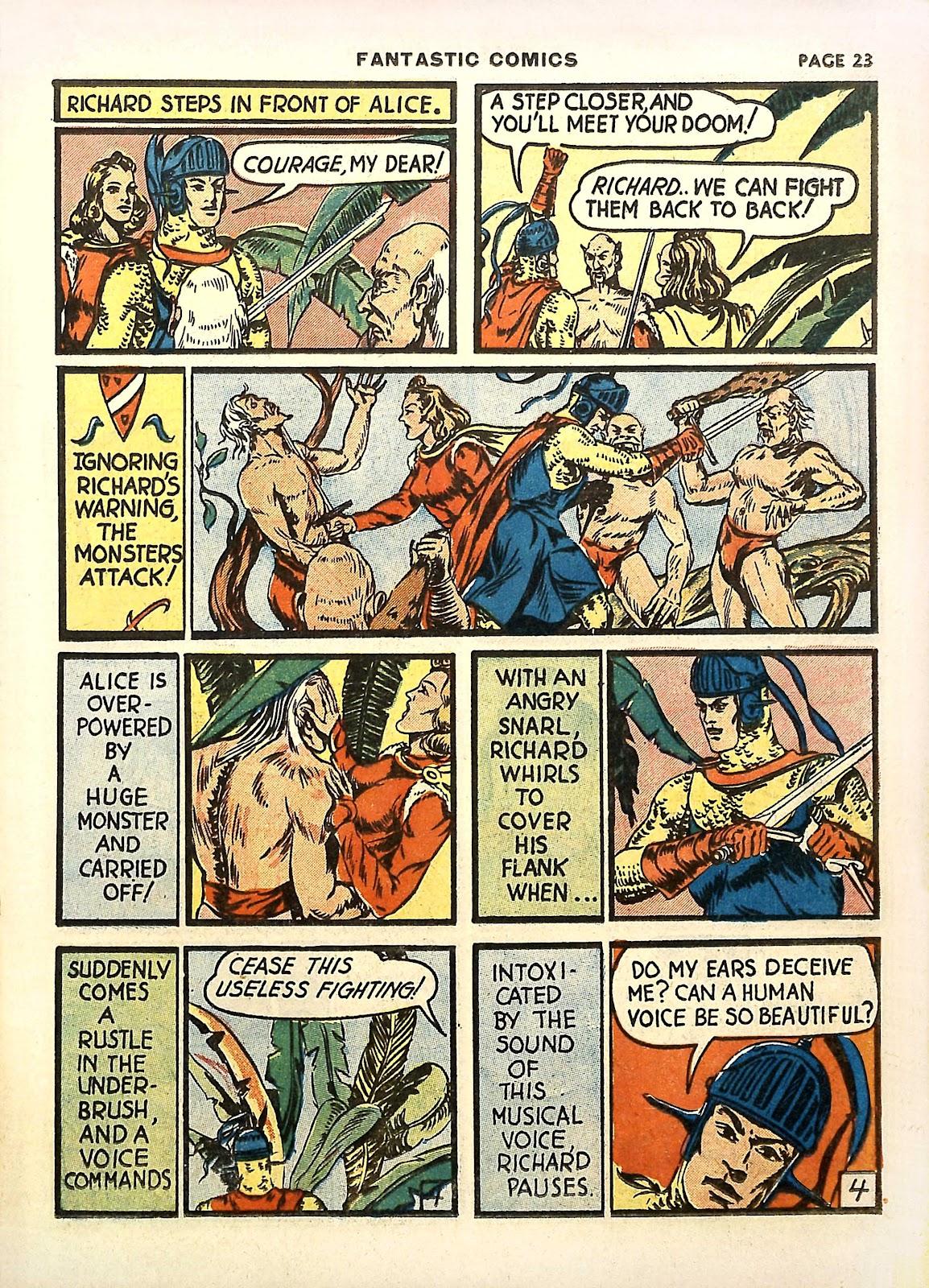 Read online Fantastic Comics comic -  Issue #11 - 26