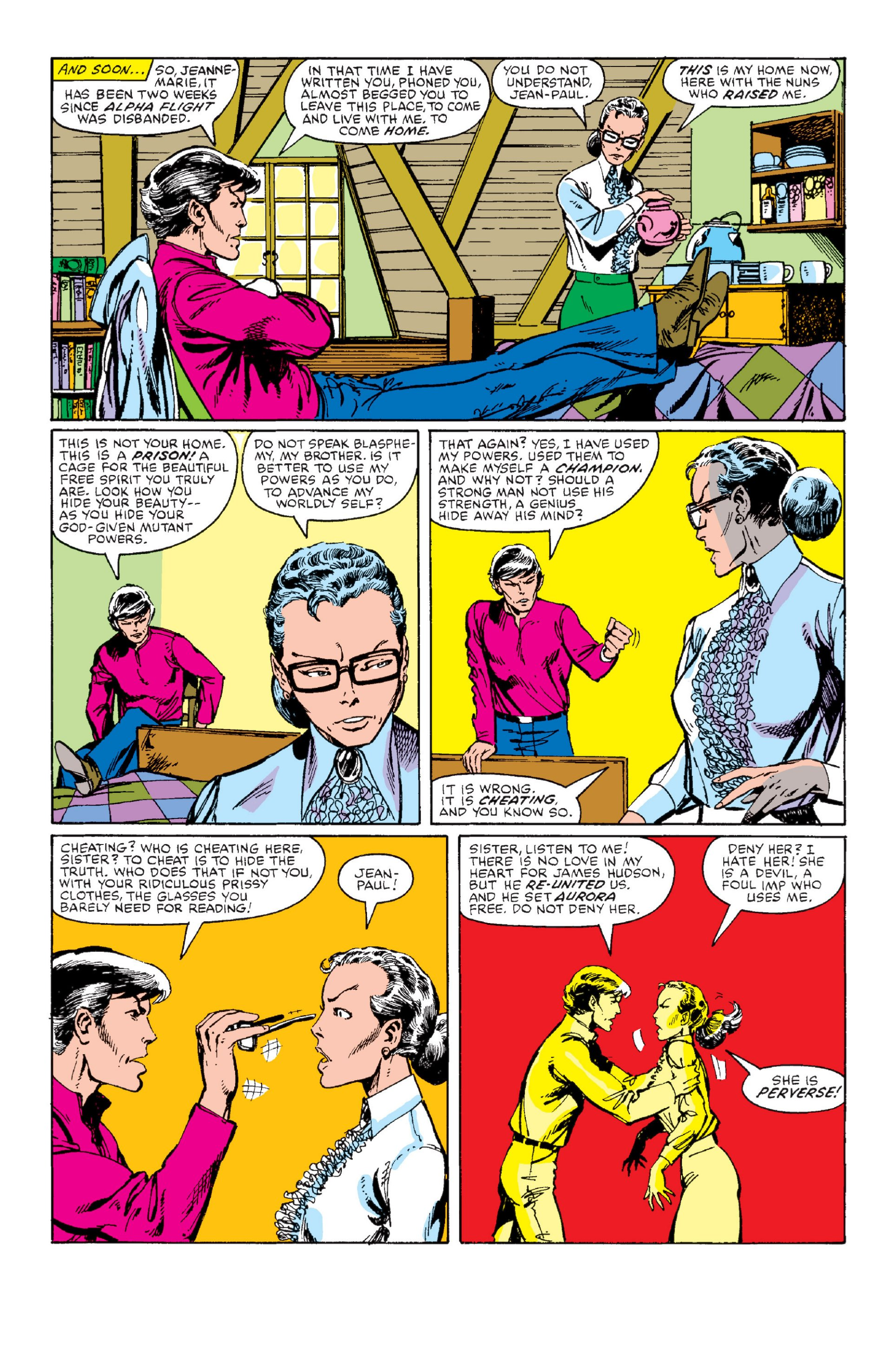 Read online Alpha Flight (1983) comic -  Issue #1 - 11